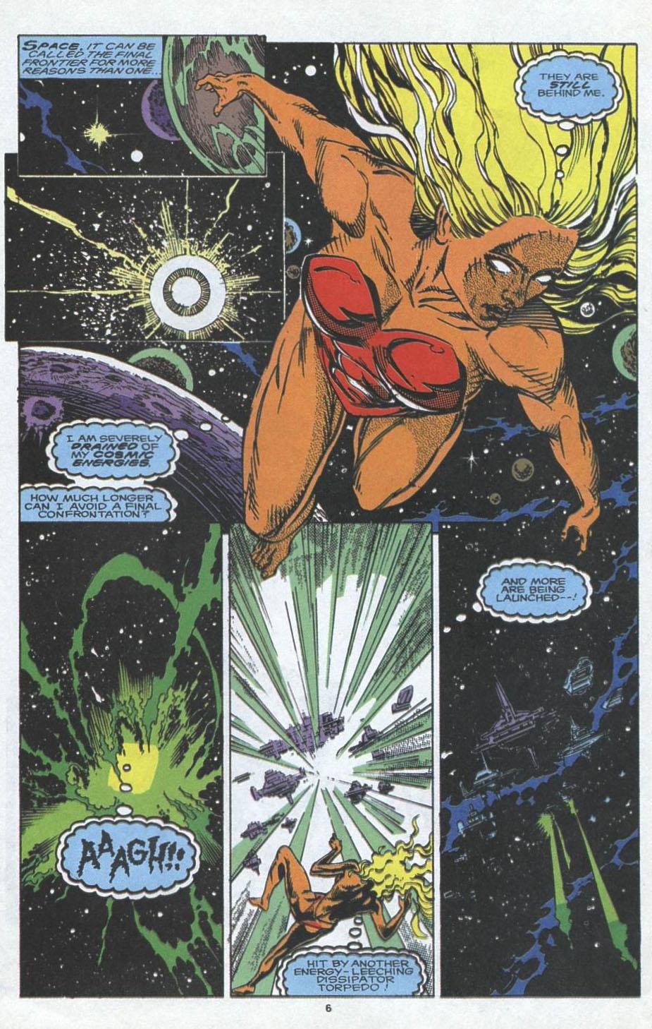 Read online Alpha Flight (1983) comic -  Issue #97 - 6