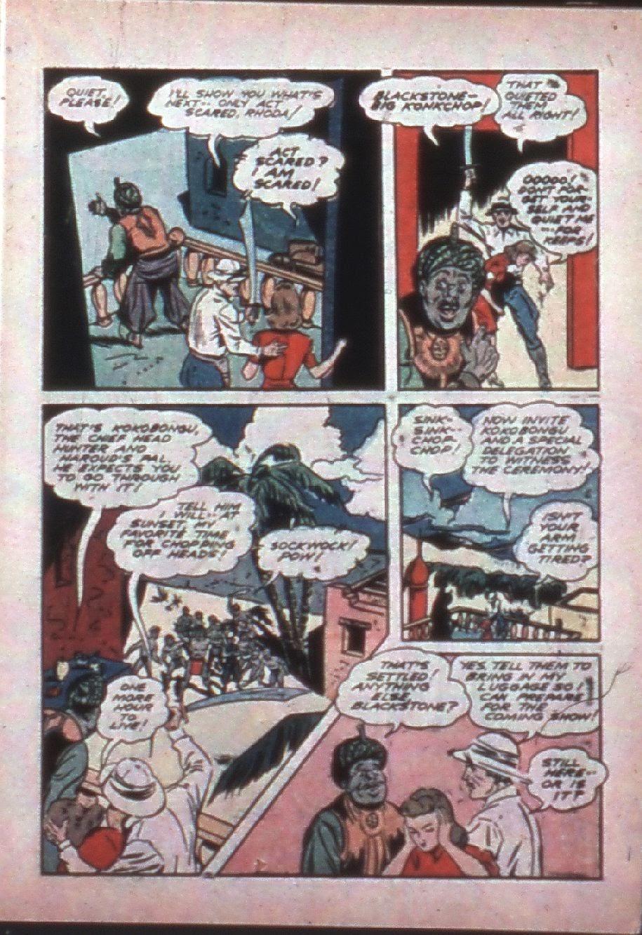 Read online Super-Magician Comics comic -  Issue #7 - 9