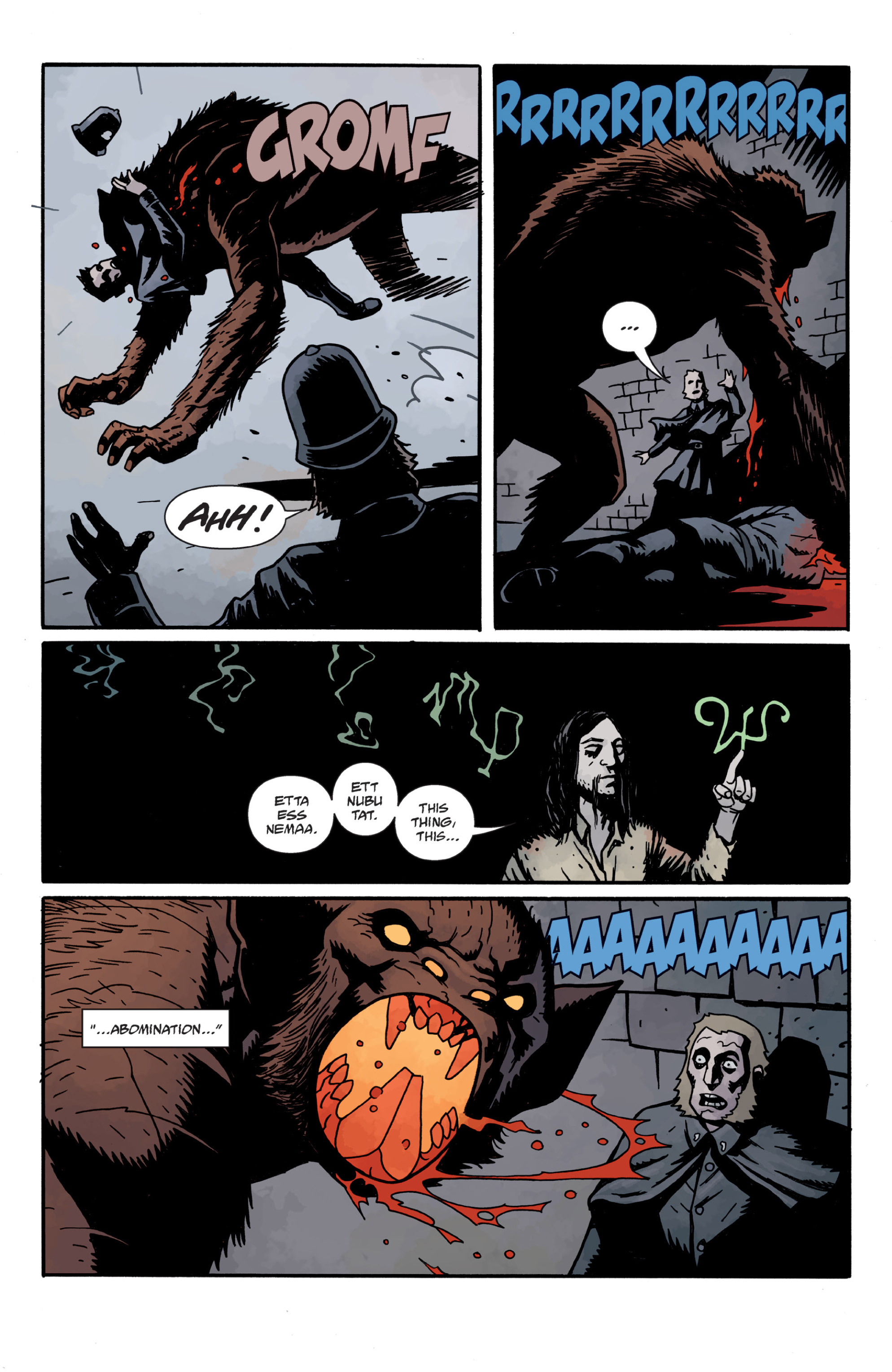 Read online Sir Edward Grey, Witchfinder: In the Service of Angels comic -  Issue # TPB - 107