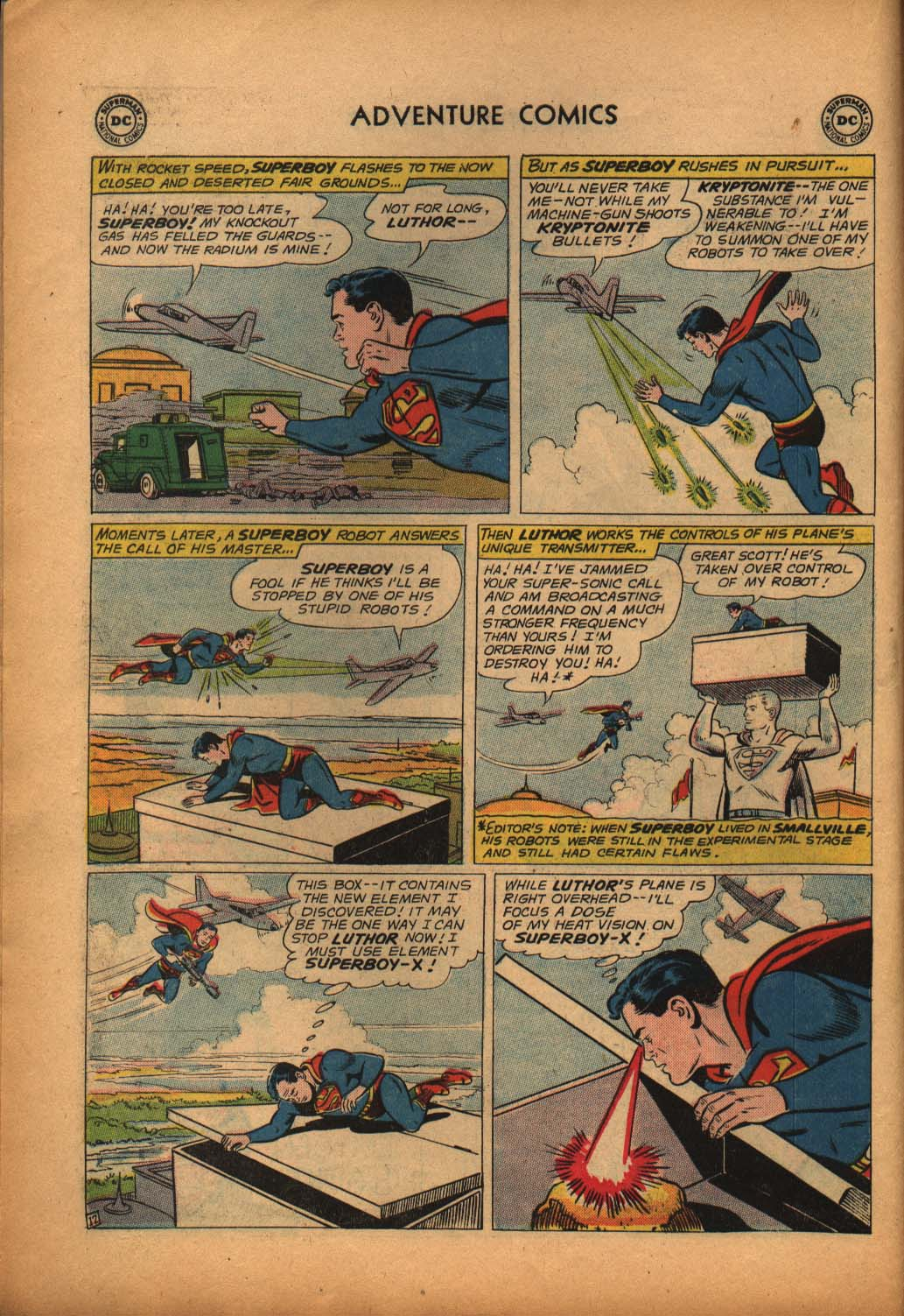Read online Adventure Comics (1938) comic -  Issue #292 - 14