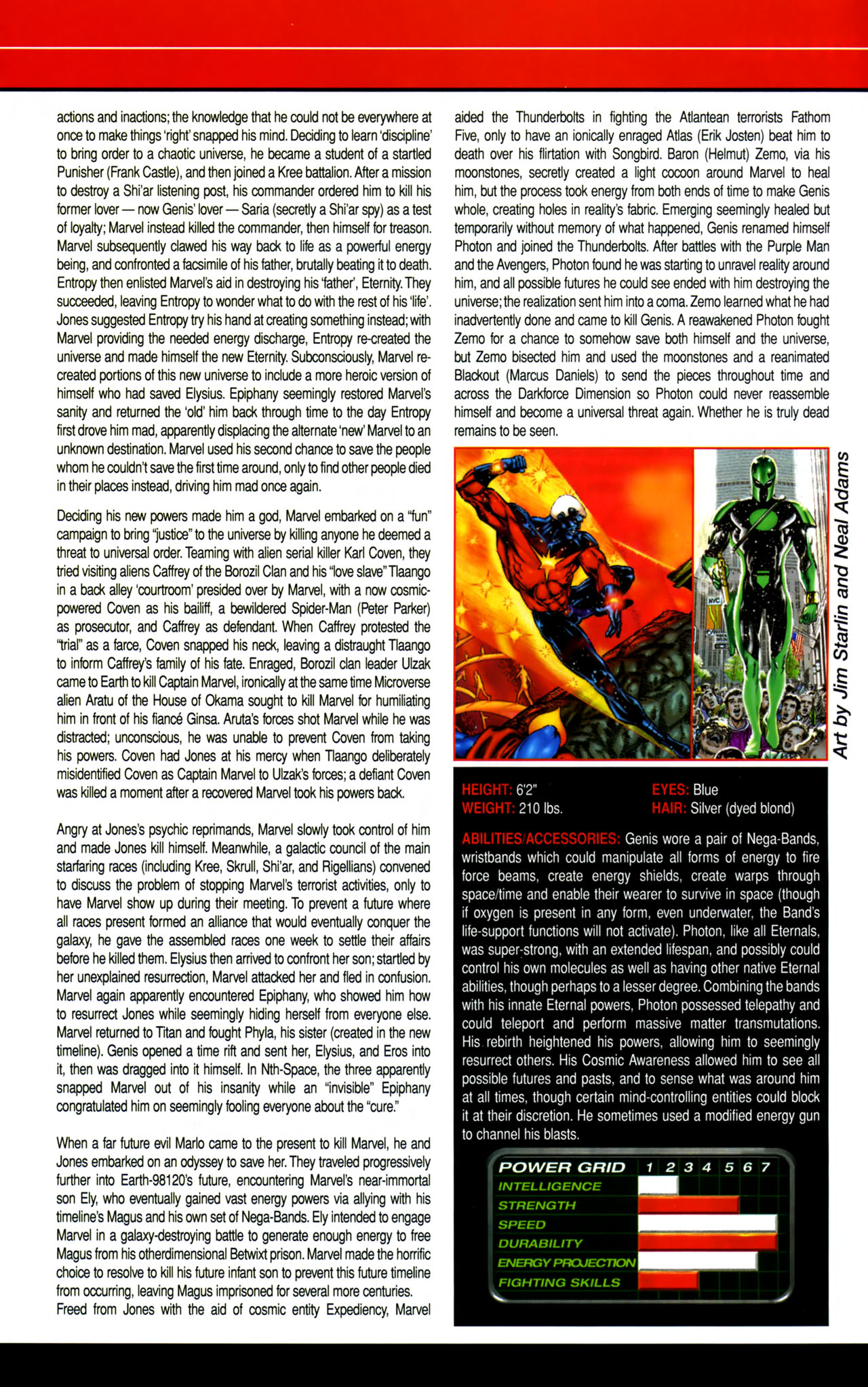 Read online All-New Official Handbook of the Marvel Universe A to Z comic -  Issue #8 - 43