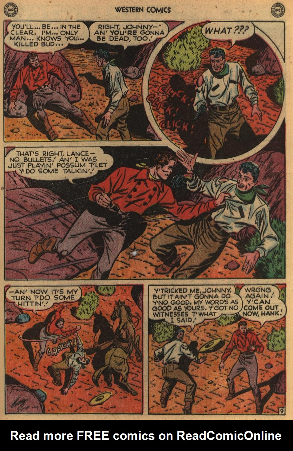 Western Comics issue 1 - Page 47