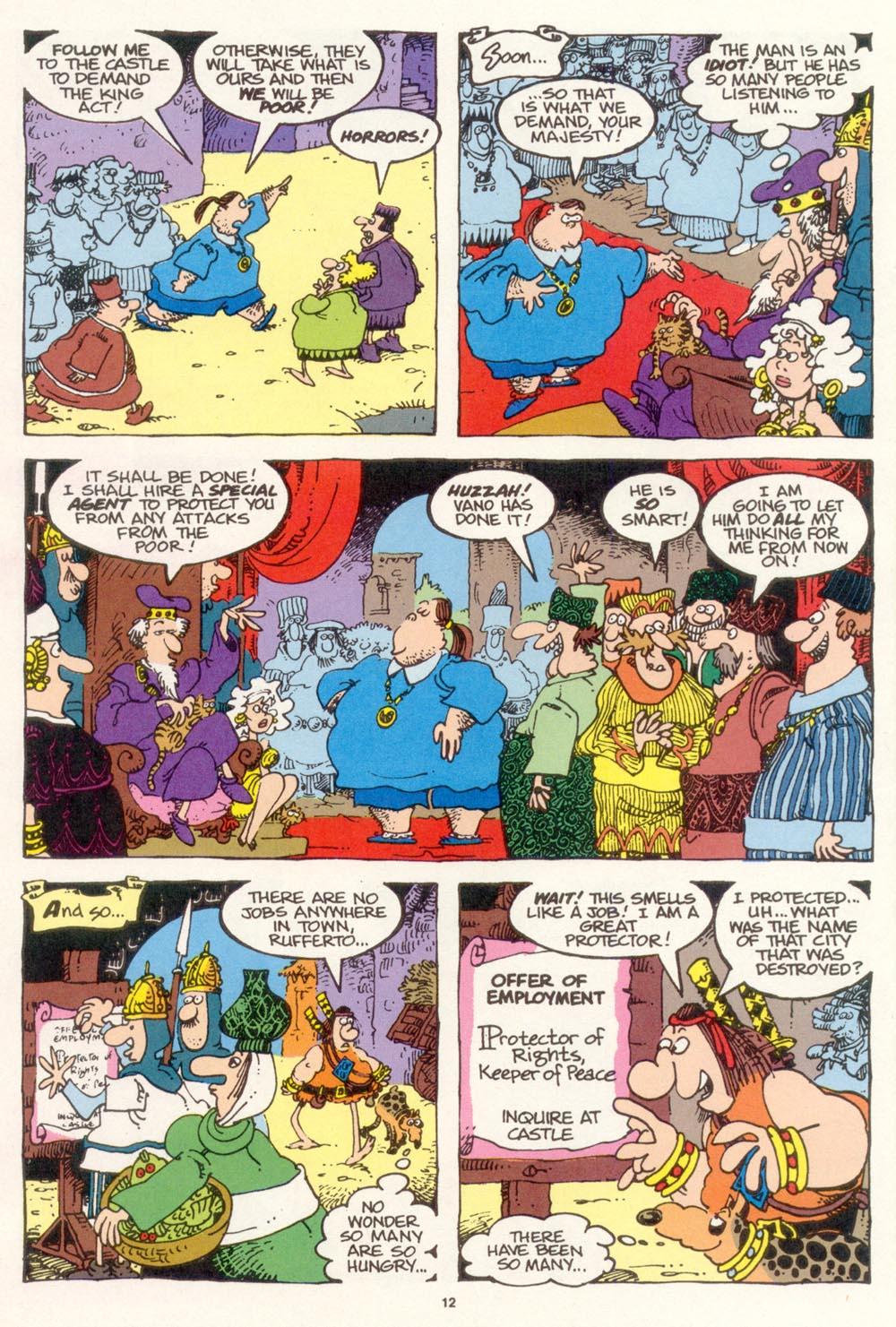 Read online Sergio Aragonés Groo the Wanderer comic -  Issue #118 - 14