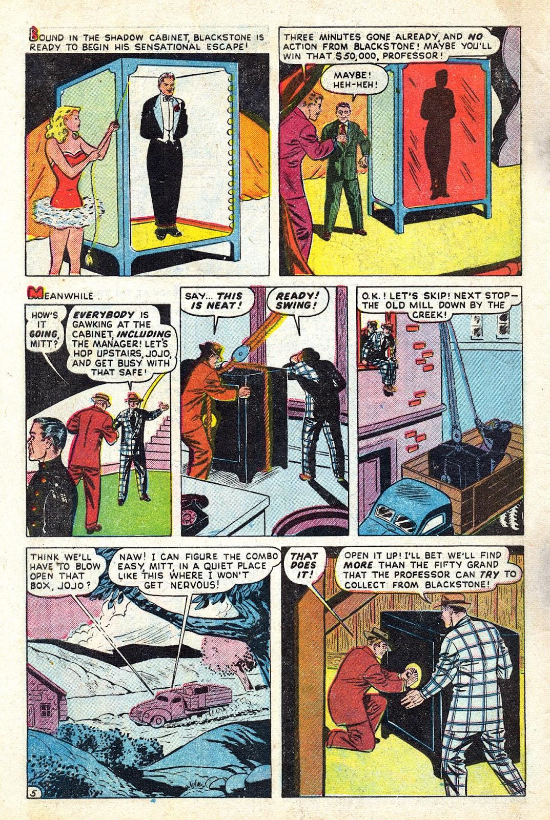 Read online Blackstone the Magician comic -  Issue #4 - 30
