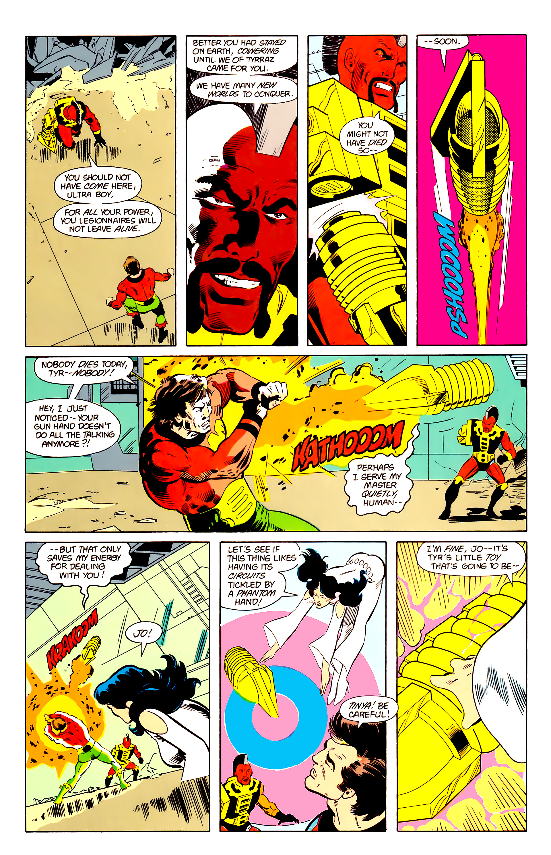 Legion of Super-Heroes (1984) 20 Page 9