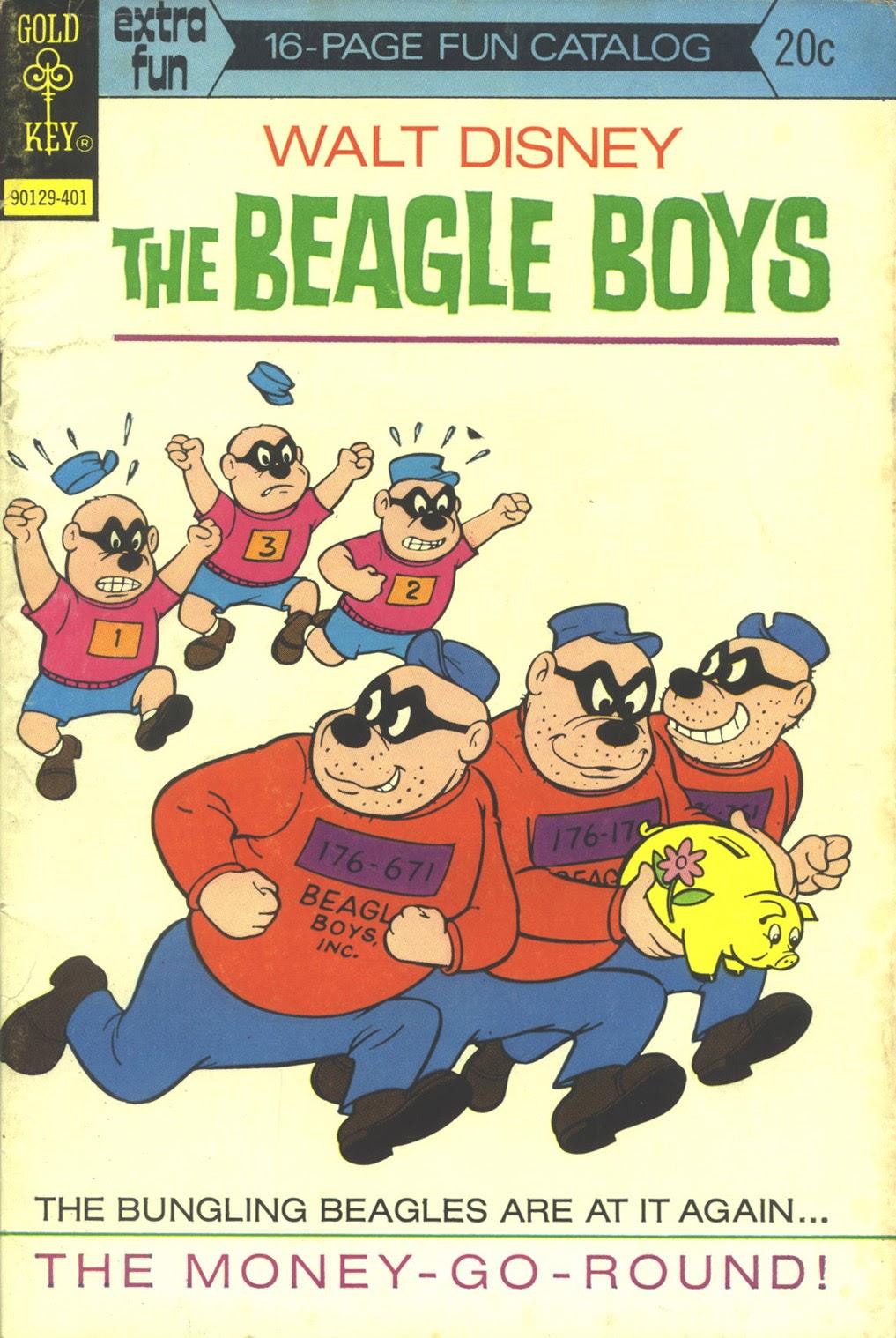 Walt Disney THE BEAGLE BOYS issue 19 - Page 1