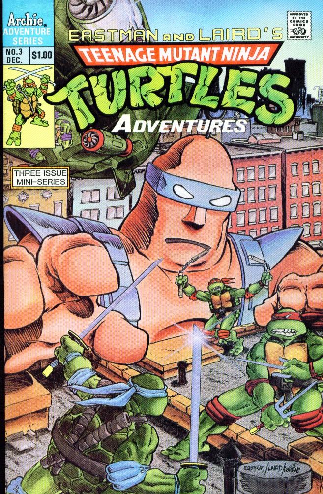 Teenage Mutant Ninja Turtles Adventures (1988) 3 Page 1