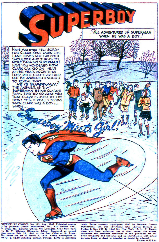 Read online Adventure Comics (1938) comic -  Issue #119 - 3