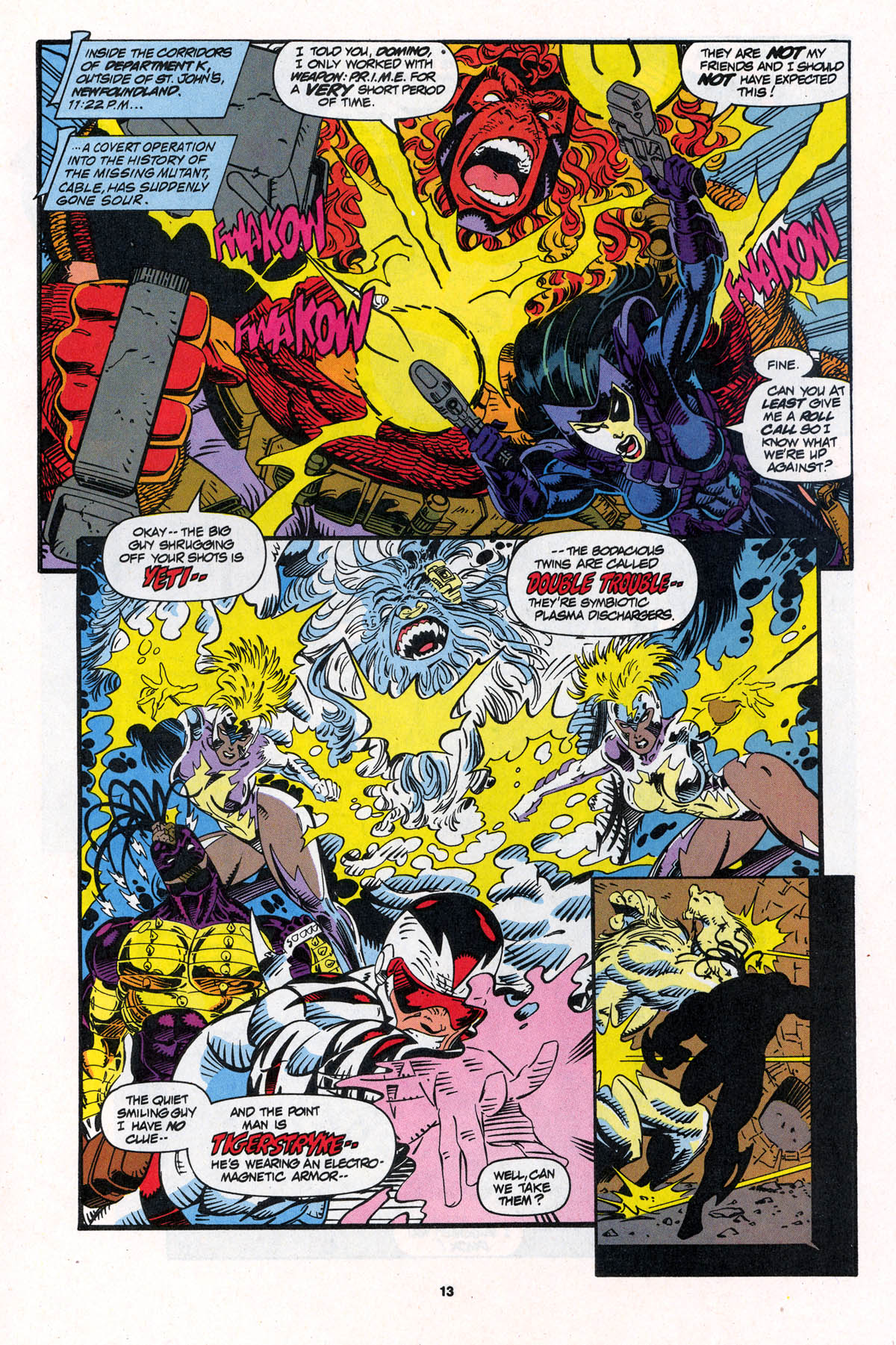 Read online X-Force (1991) comic -  Issue #23 - 13