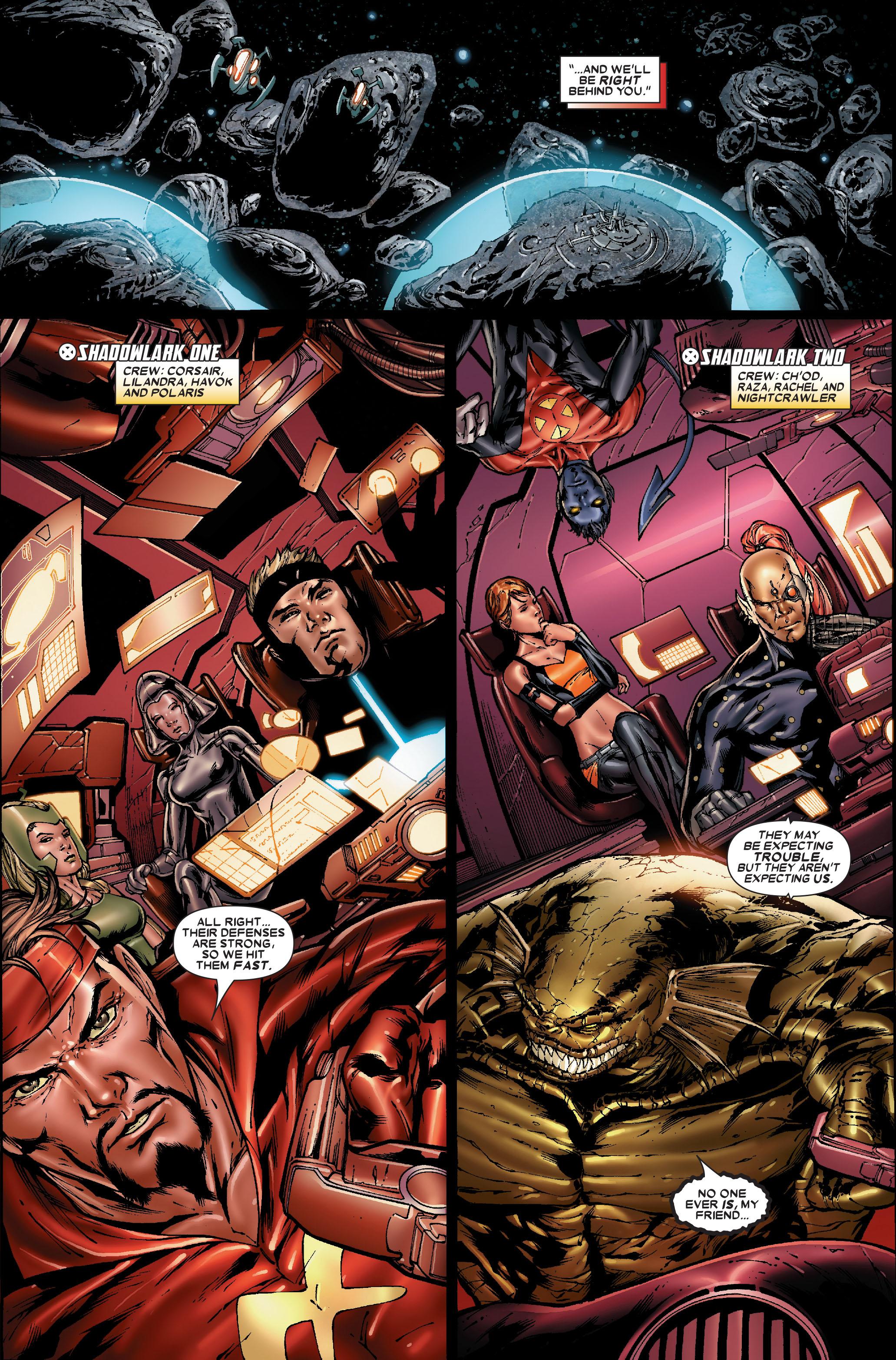 Read online Uncanny X-Men (1963) comic -  Issue #484 - 7