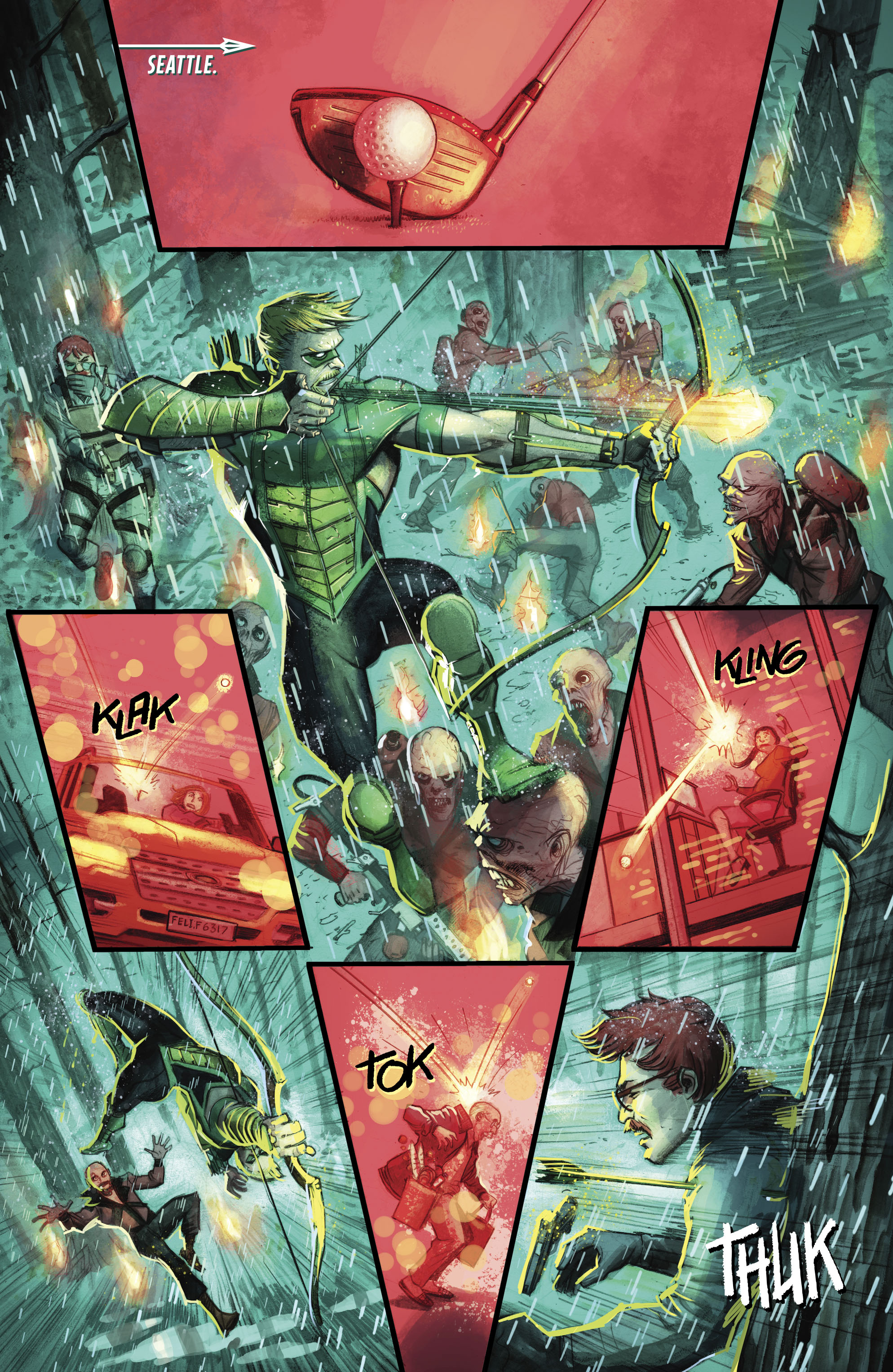 Read online Green Arrow (2016) comic -  Issue #23 - 18