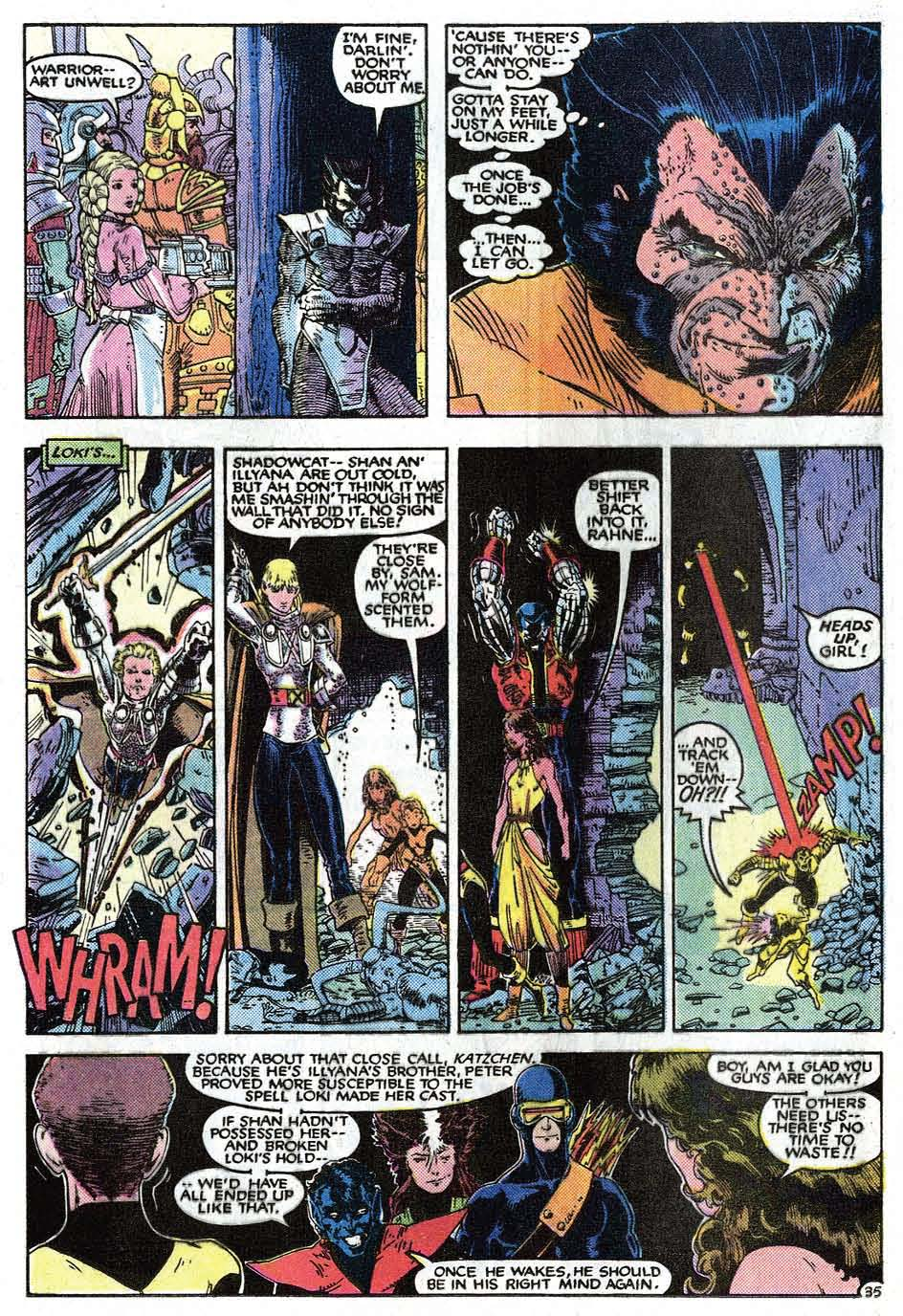 Read online Uncanny X-Men (1963) comic -  Issue # _Annual 9 - 37