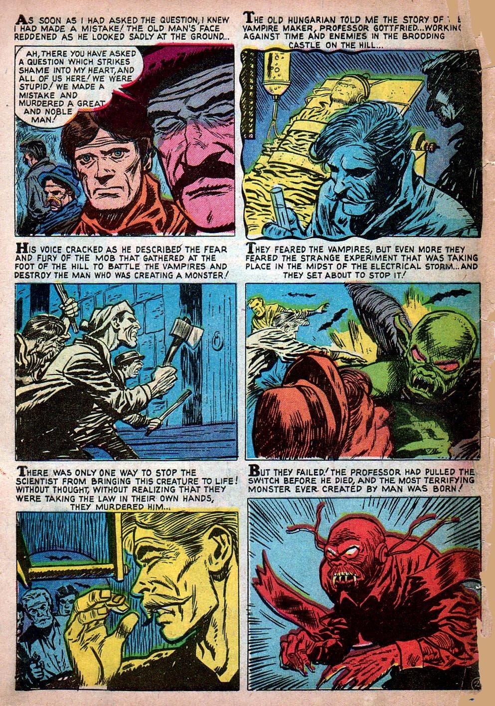 Read online Adventures into Weird Worlds comic -  Issue #15 - 3