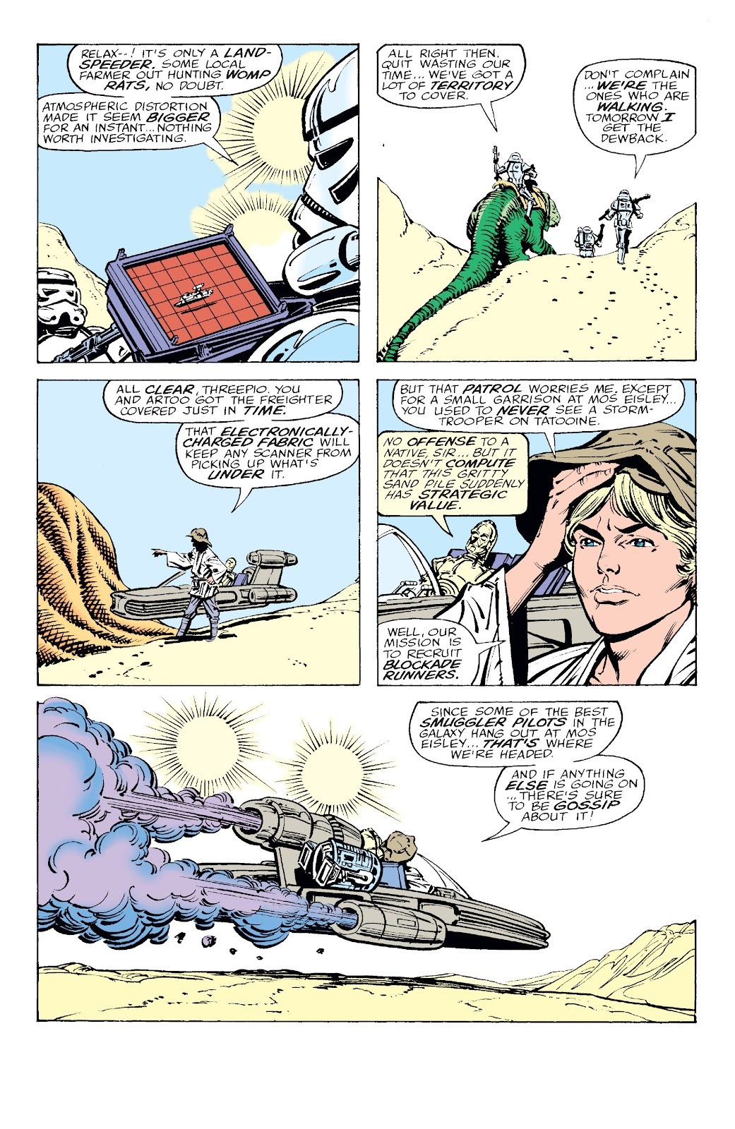 Read online Star Wars Legends: The Original Marvel Years - Epic Collection comic -  Issue # TPB 2 (Part 2) - 36