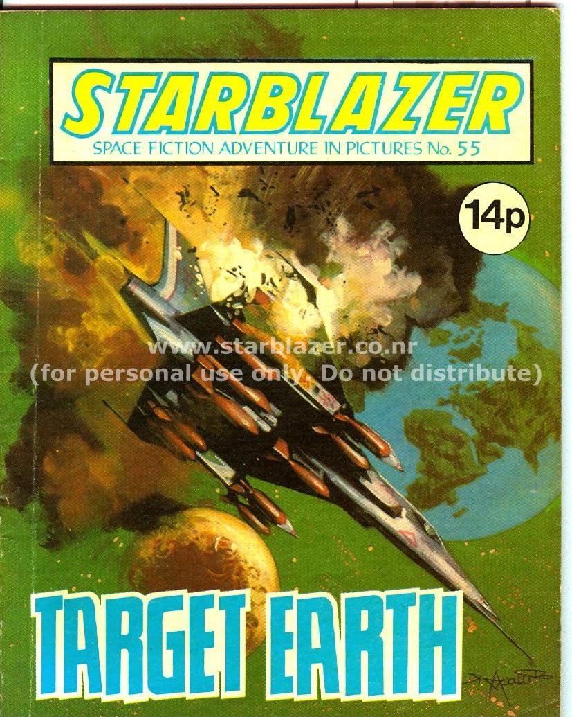 Starblazer issue 55 - Page 1