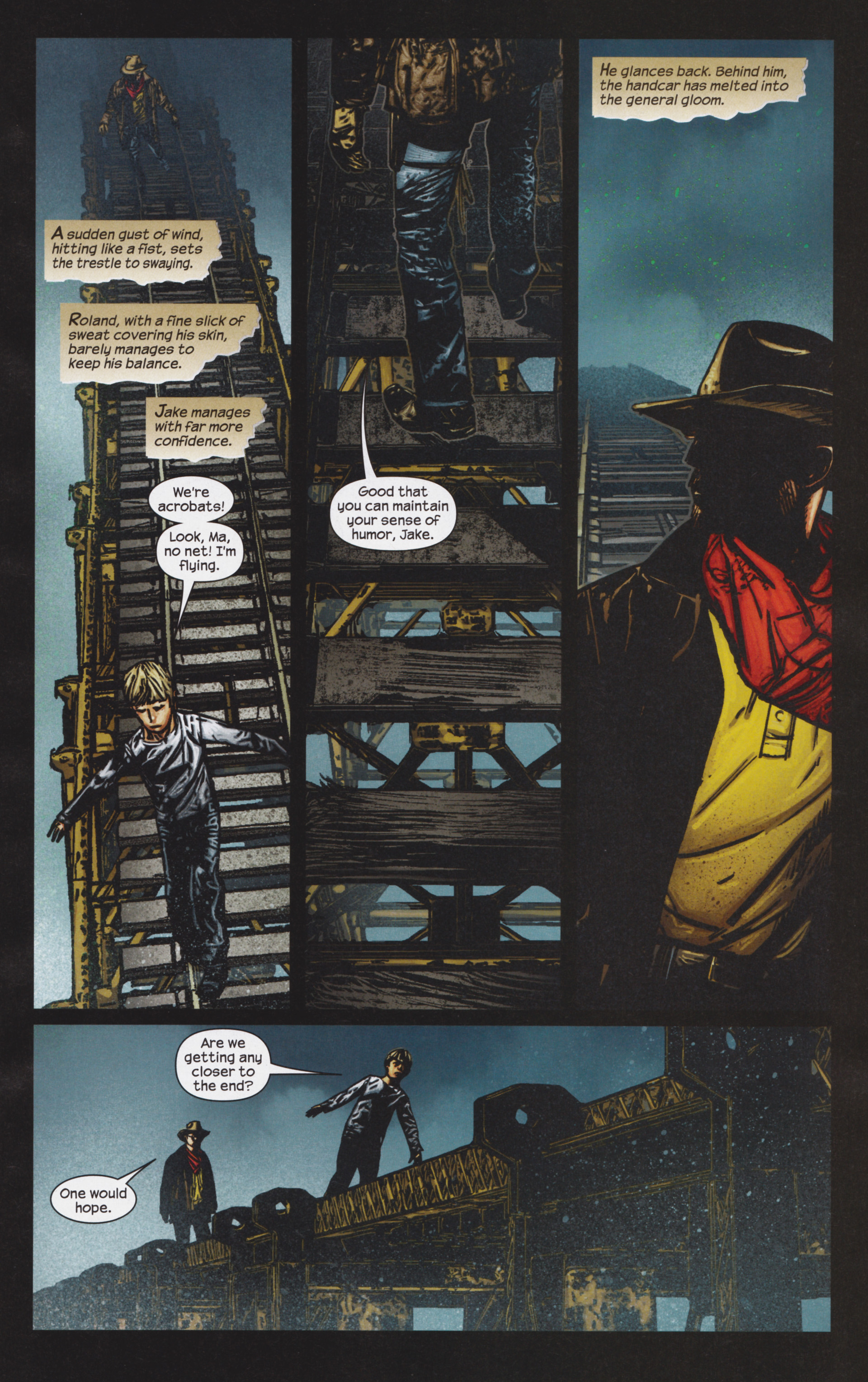 Read online Dark Tower: The Gunslinger - The Man in Black comic -  Issue #4 - 12