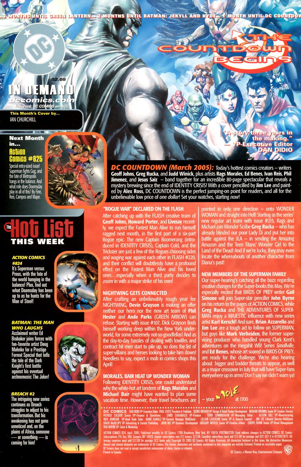 Action Comics (1938) 824 Page 23