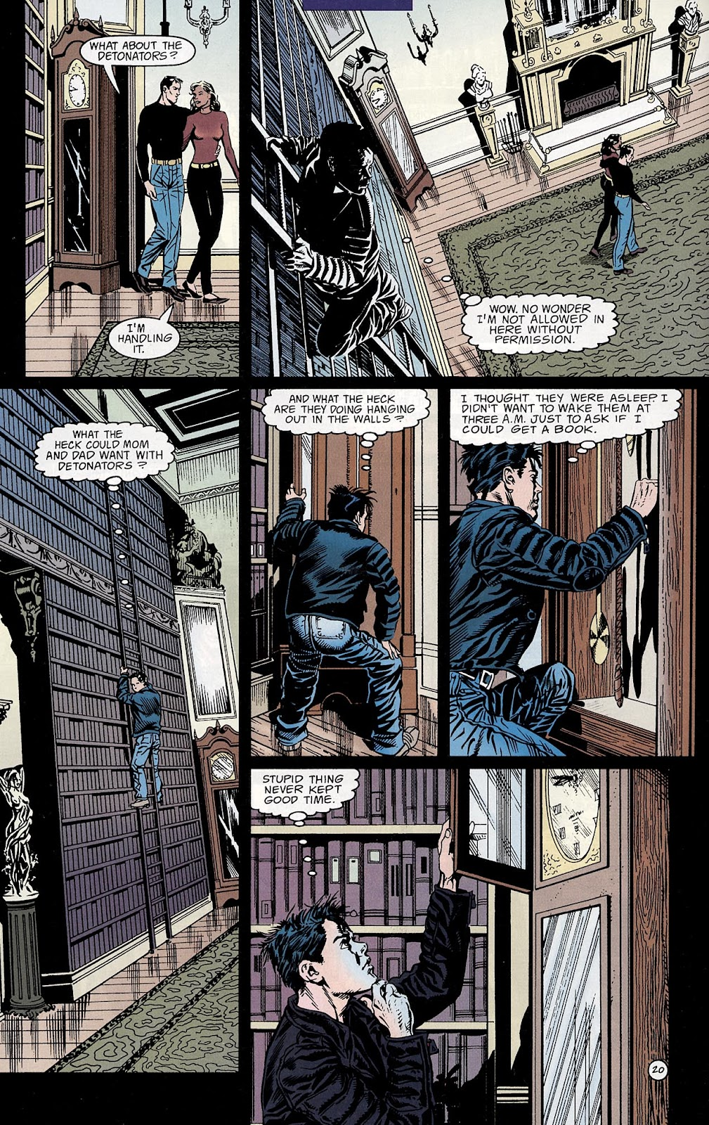 Catwoman (1993) Annual 3 #3 - English 21