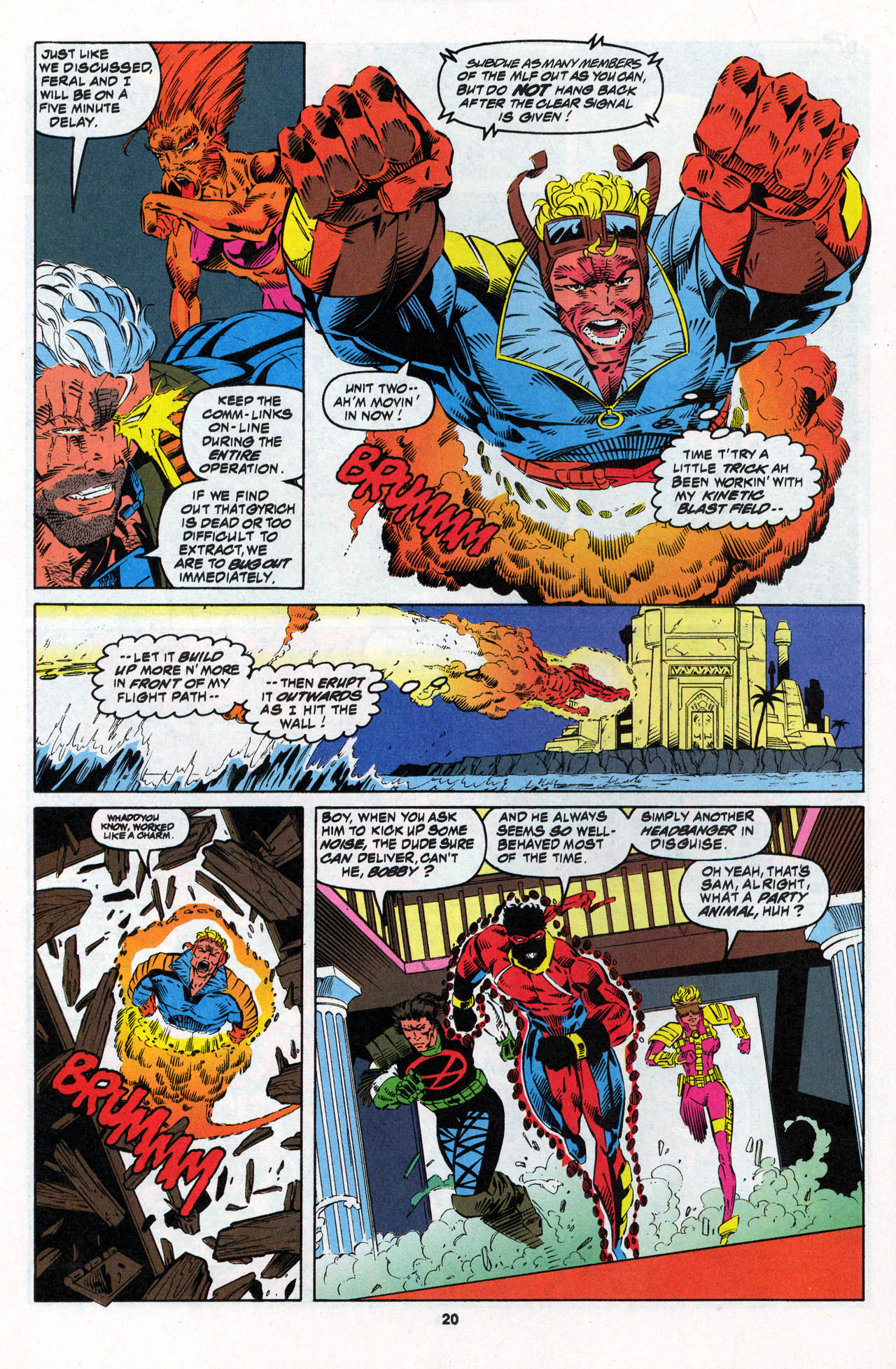 Read online X-Force (1991) comic -  Issue #27 - 21