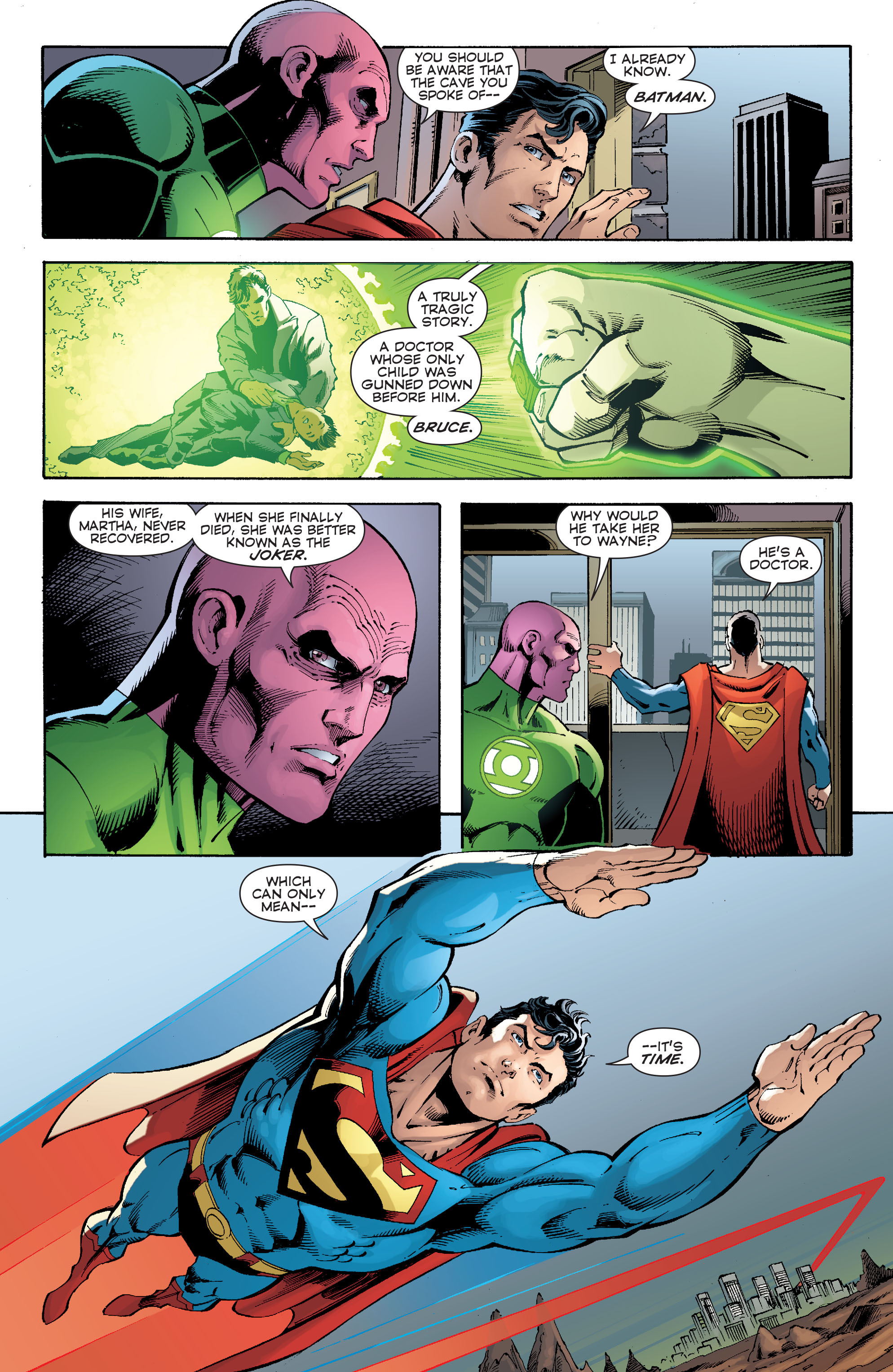 Read online Convergence Superman comic -  Issue #2 - 16