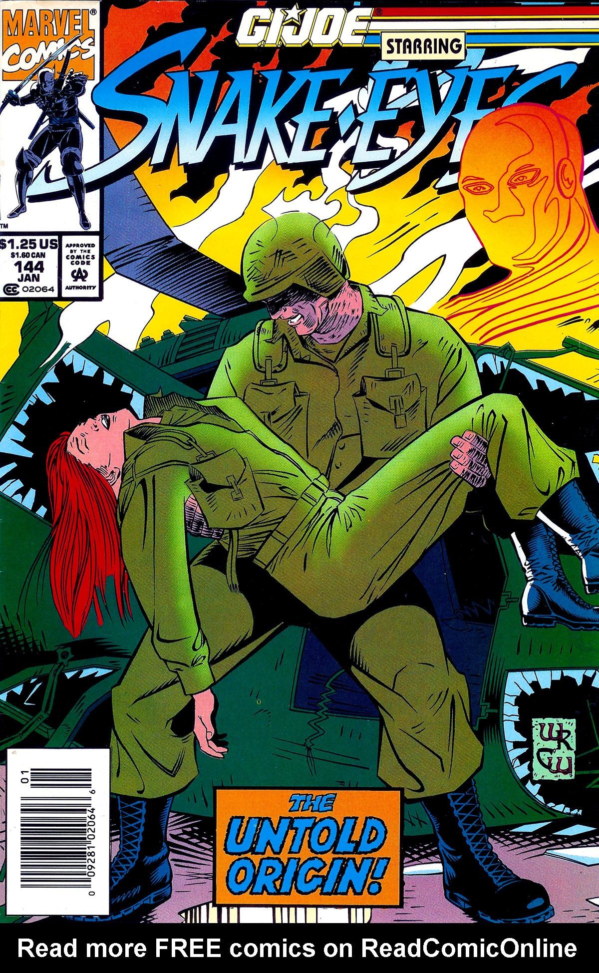 G.I. Joe: A Real American Hero 144 Page 1
