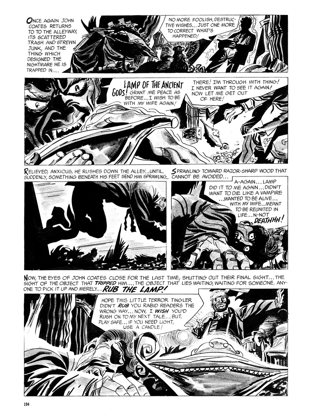 Read online Eerie Archives comic -  Issue # TPB 2 - 195