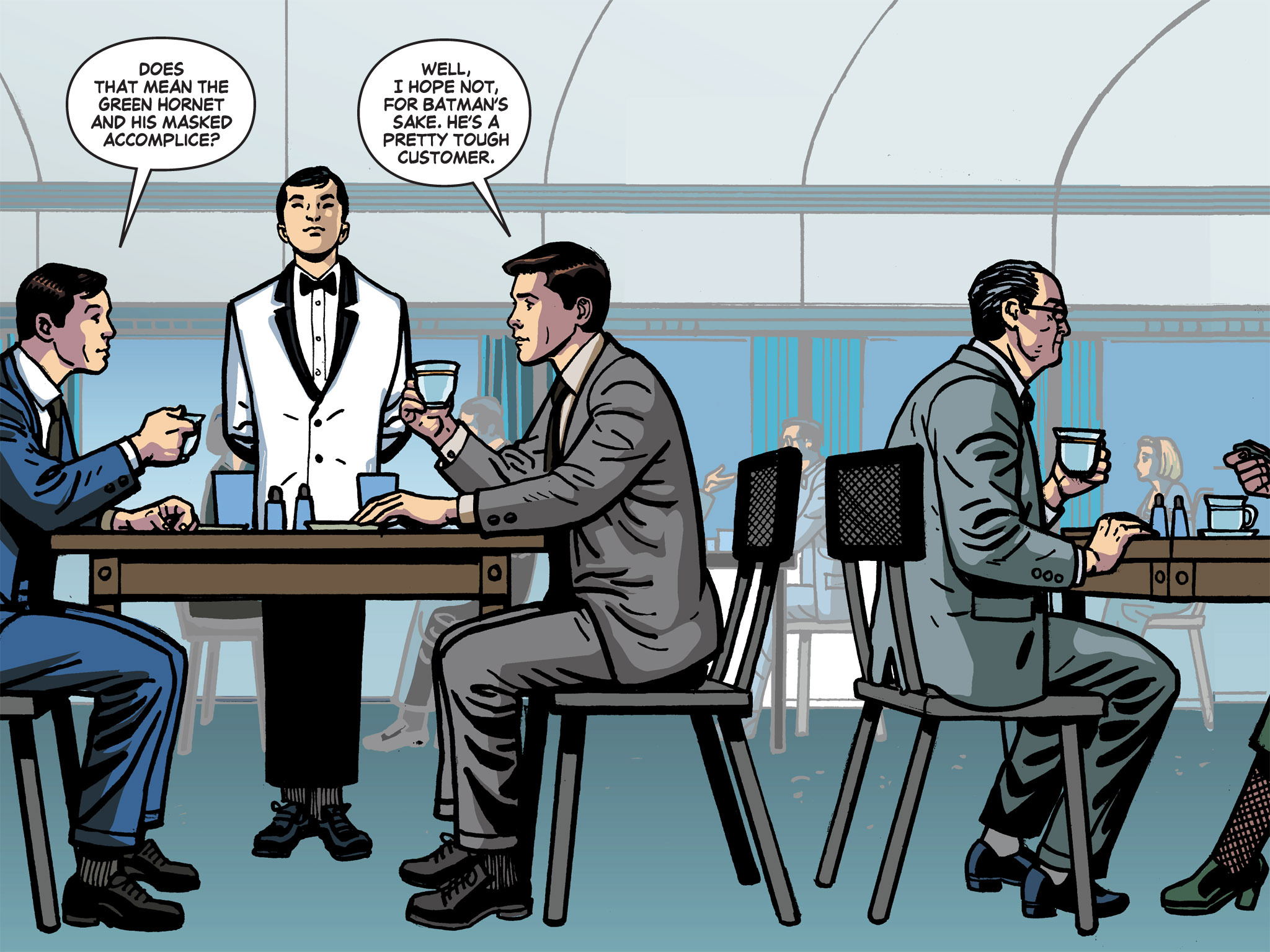 Read online Batman '66 Meets the Green Hornet [II] comic -  Issue #1 - 54