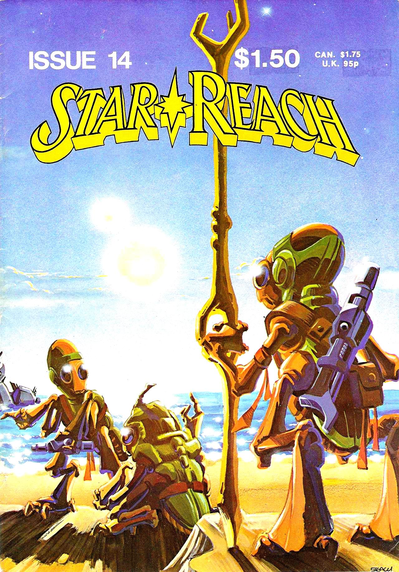 Read online Star*Reach comic -  Issue #14 - 2