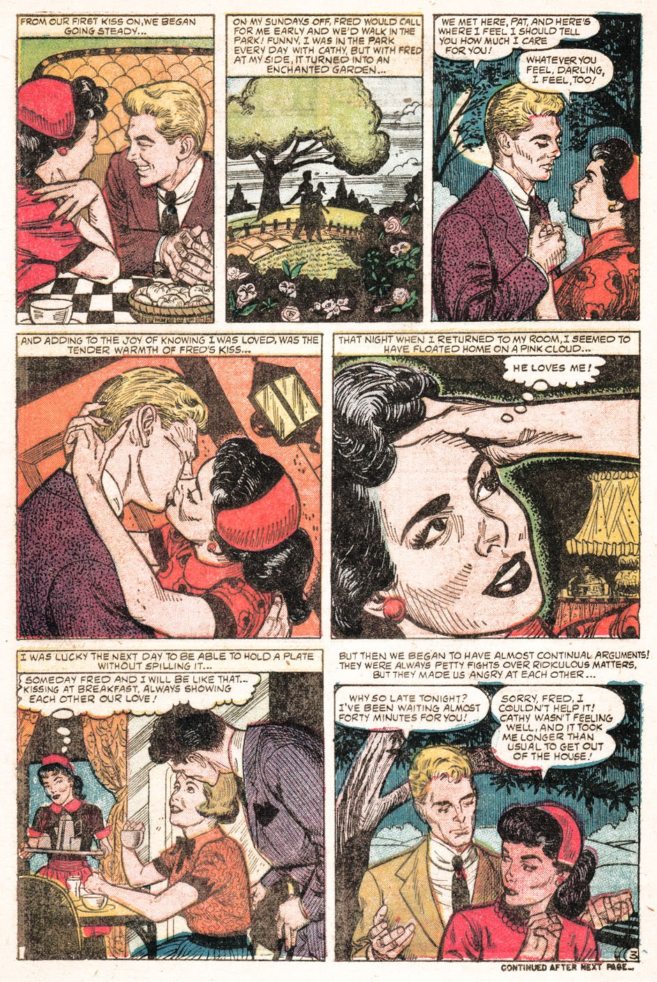 Love Romances (1949) issue 51 - Page 20