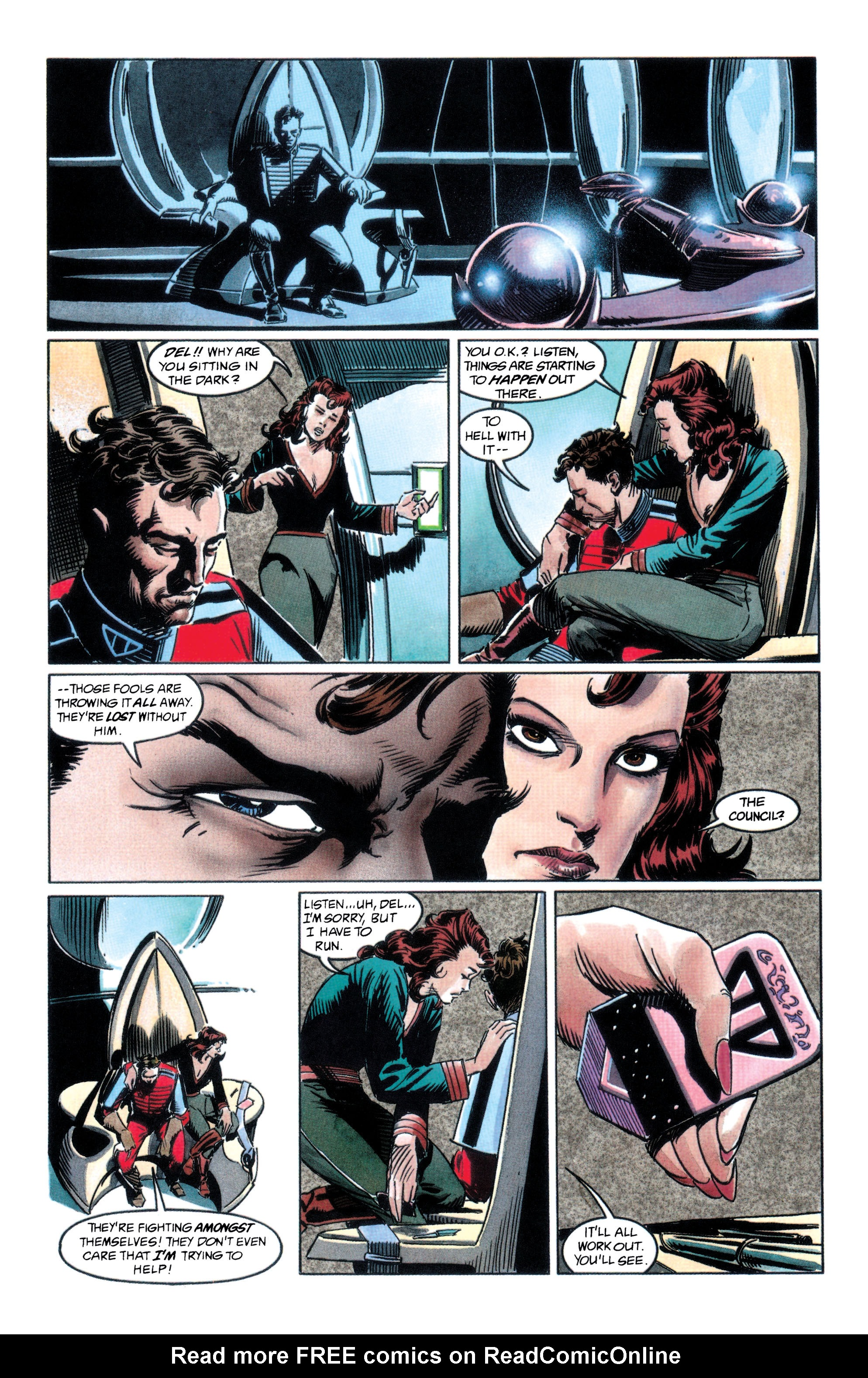 Read online Adam Strange (1990) comic -  Issue #2 - 14