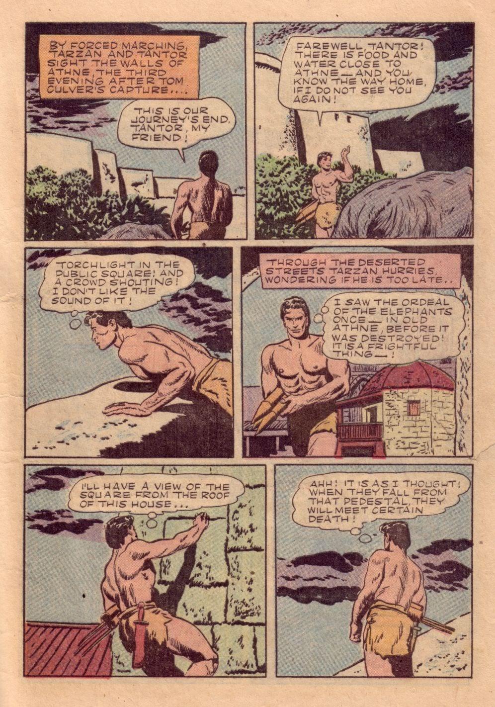 Tarzan (1948) issue 40 - Page 17
