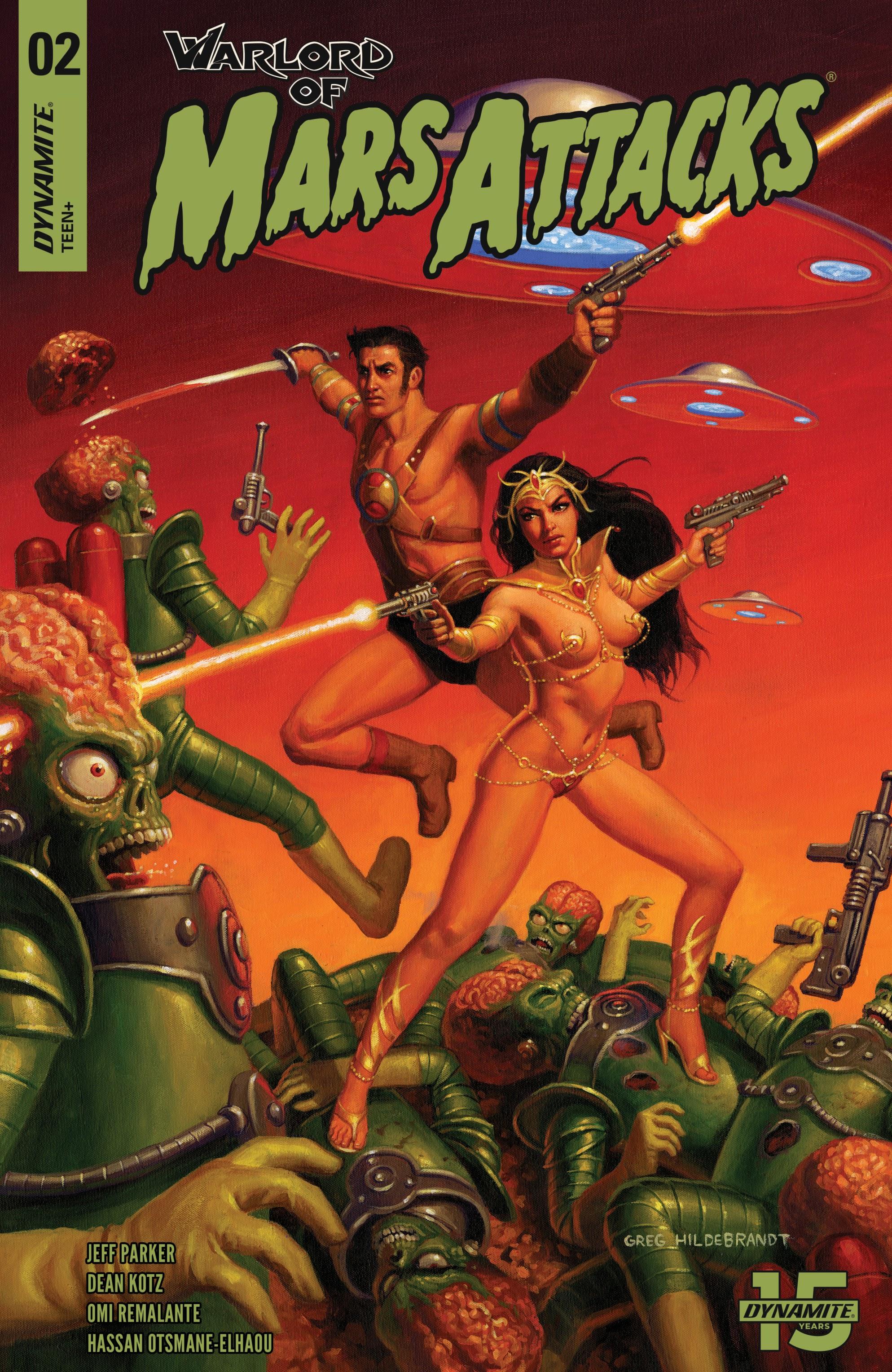 Warlord of Mars Attacks 2 Page 1