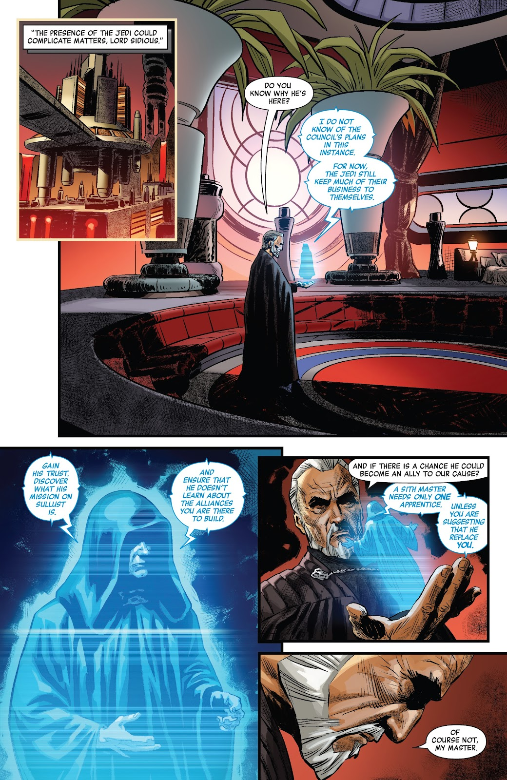 Read online Star Wars: Age of Republic - Count Dooku comic -  Issue # Full - 10