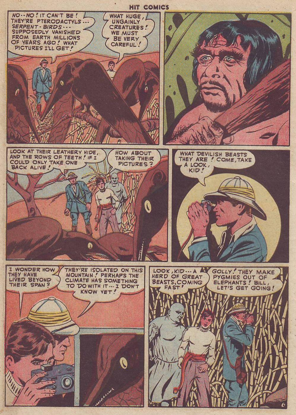 Read online Hit Comics comic -  Issue #51 - 8