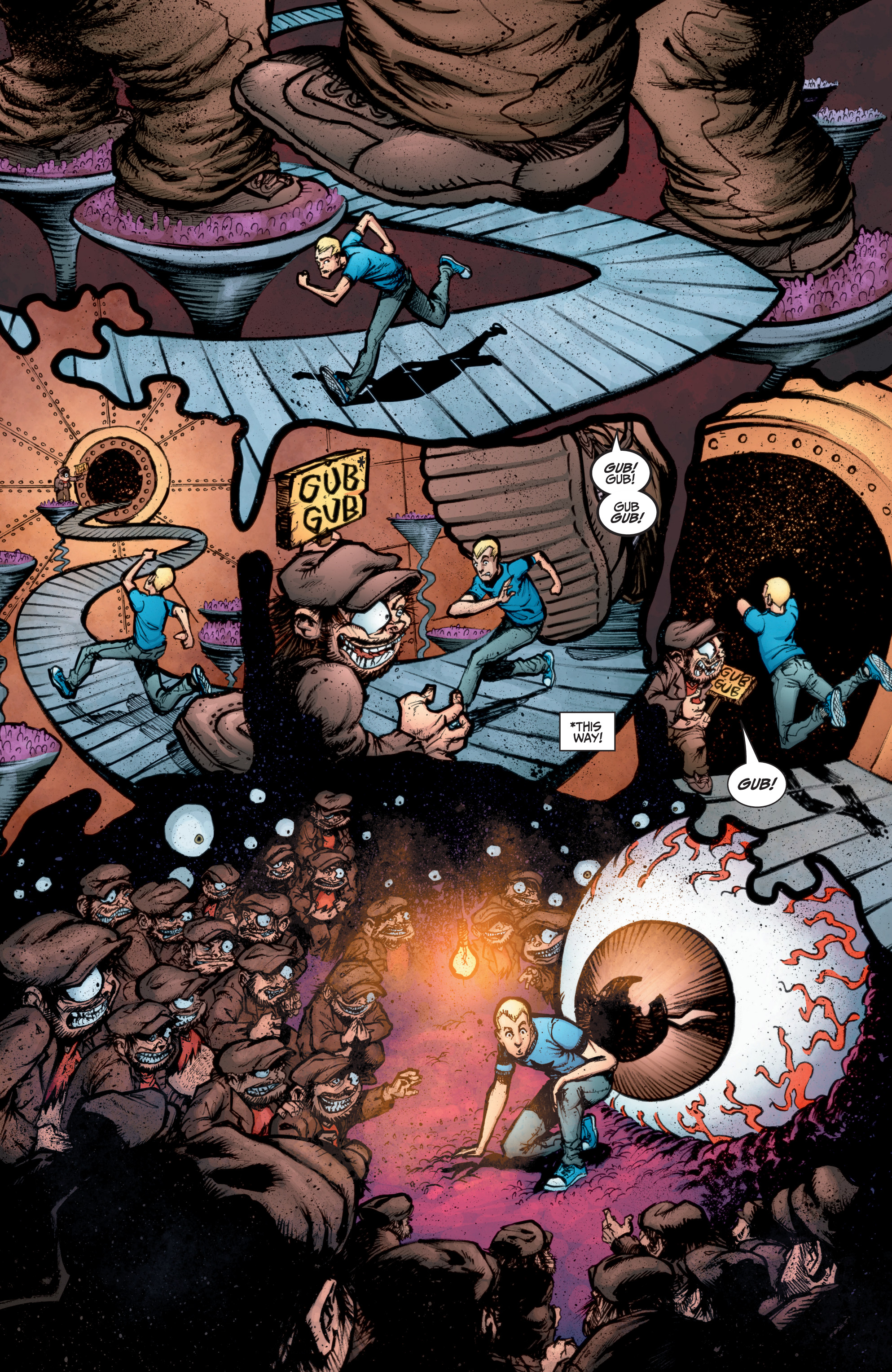 Read online A&A: The Adventures of Archer & Armstrong comic -  Issue #10 - 19