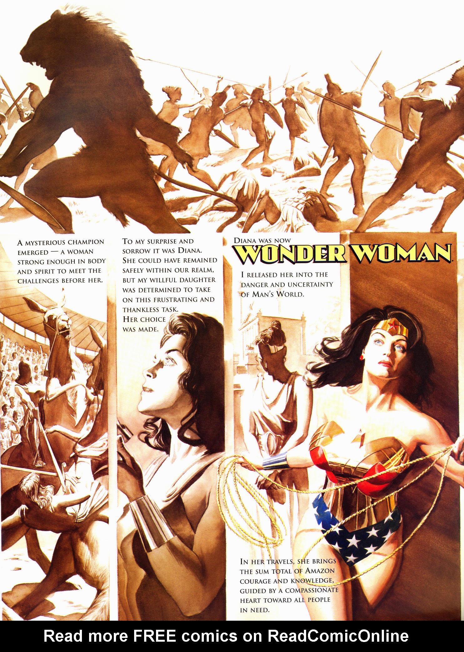 Read online Wonder Woman: Spirit of Truth comic -  Issue # Full - 6