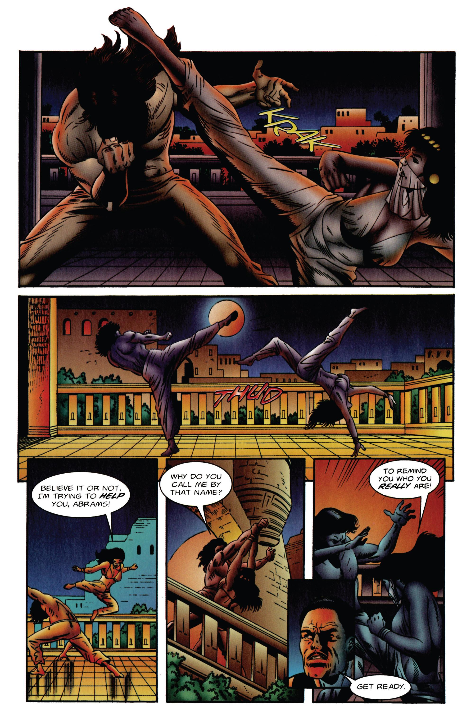 Read online Eternal Warrior (1992) comic -  Issue #48 - 18