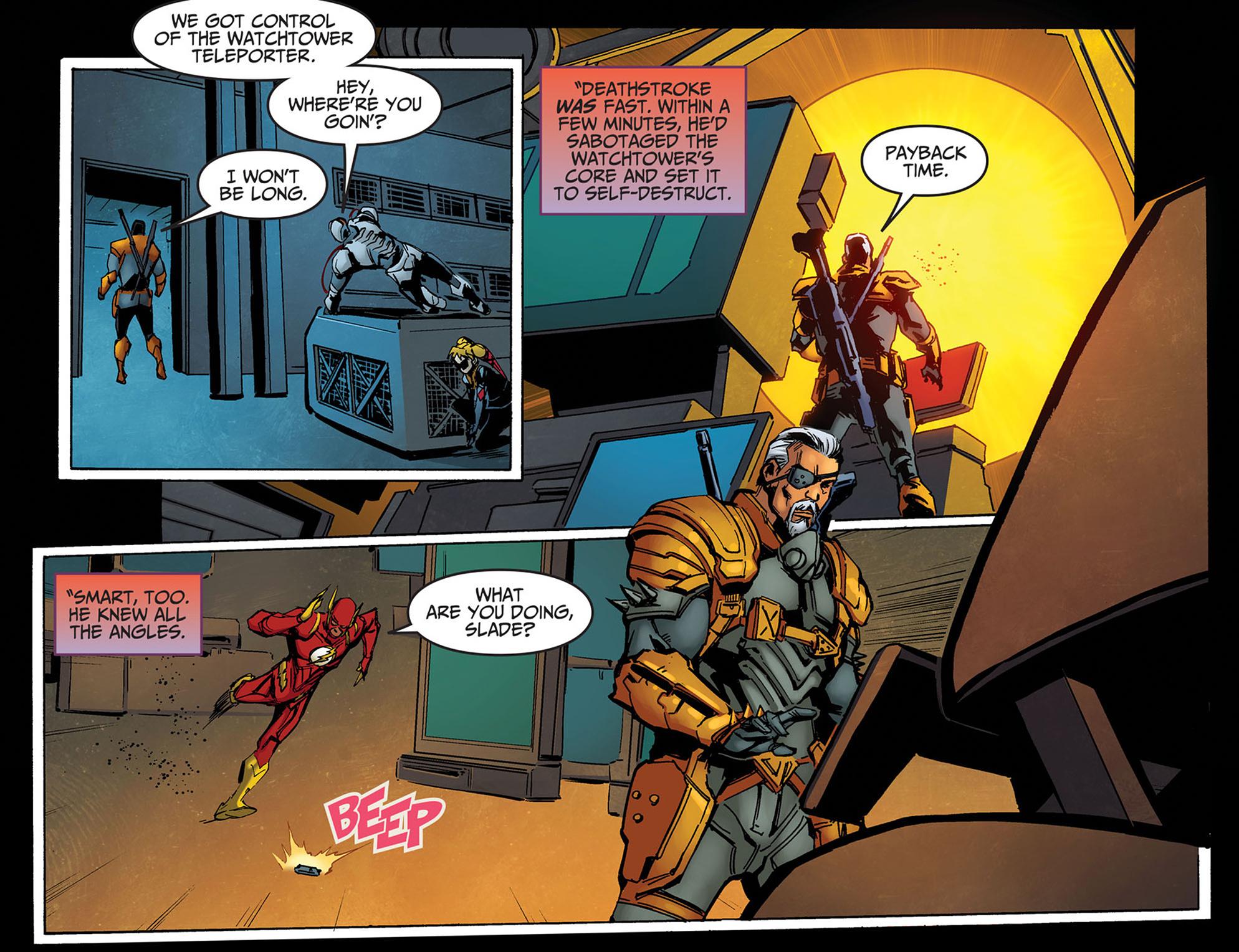 Read online Injustice: Ground Zero comic -  Issue #14 - 10