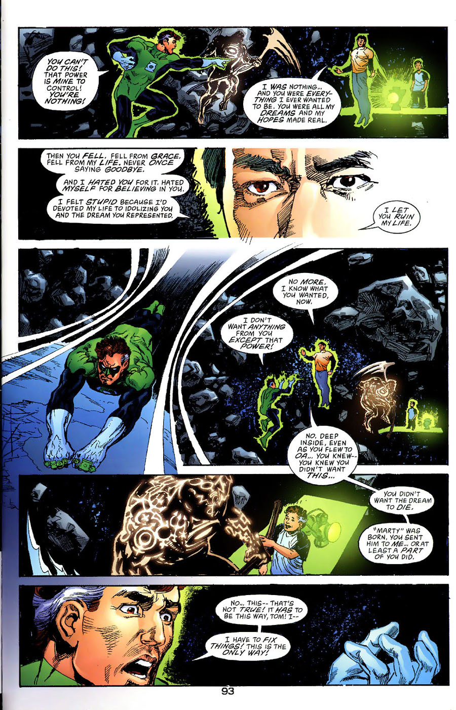 Read online Green Lantern: Legacy: The Last Will and Testament of Hal Jordan comic -  Issue # TPB - 100