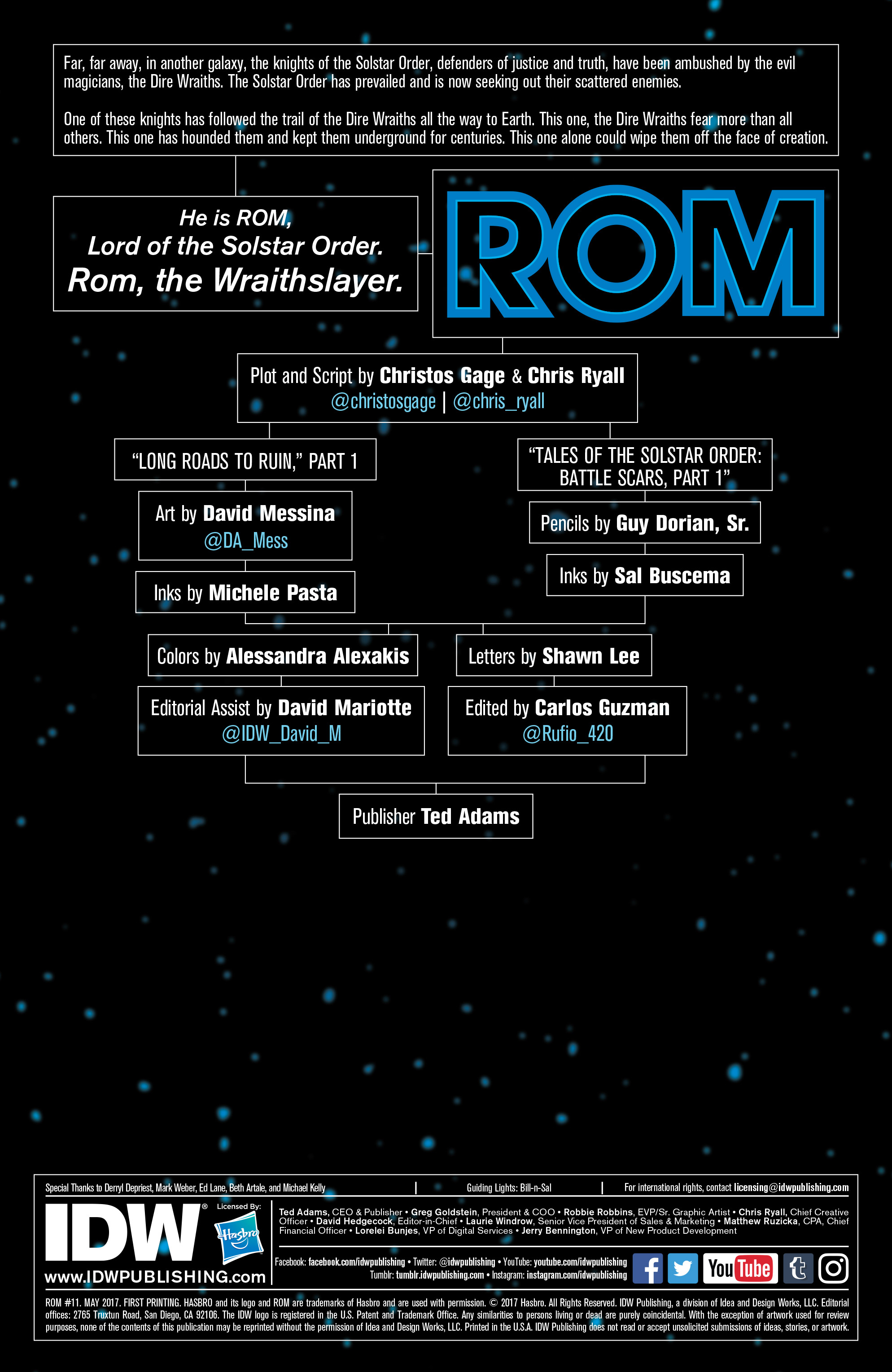 Read online ROM (2016) comic -  Issue #11 - 2