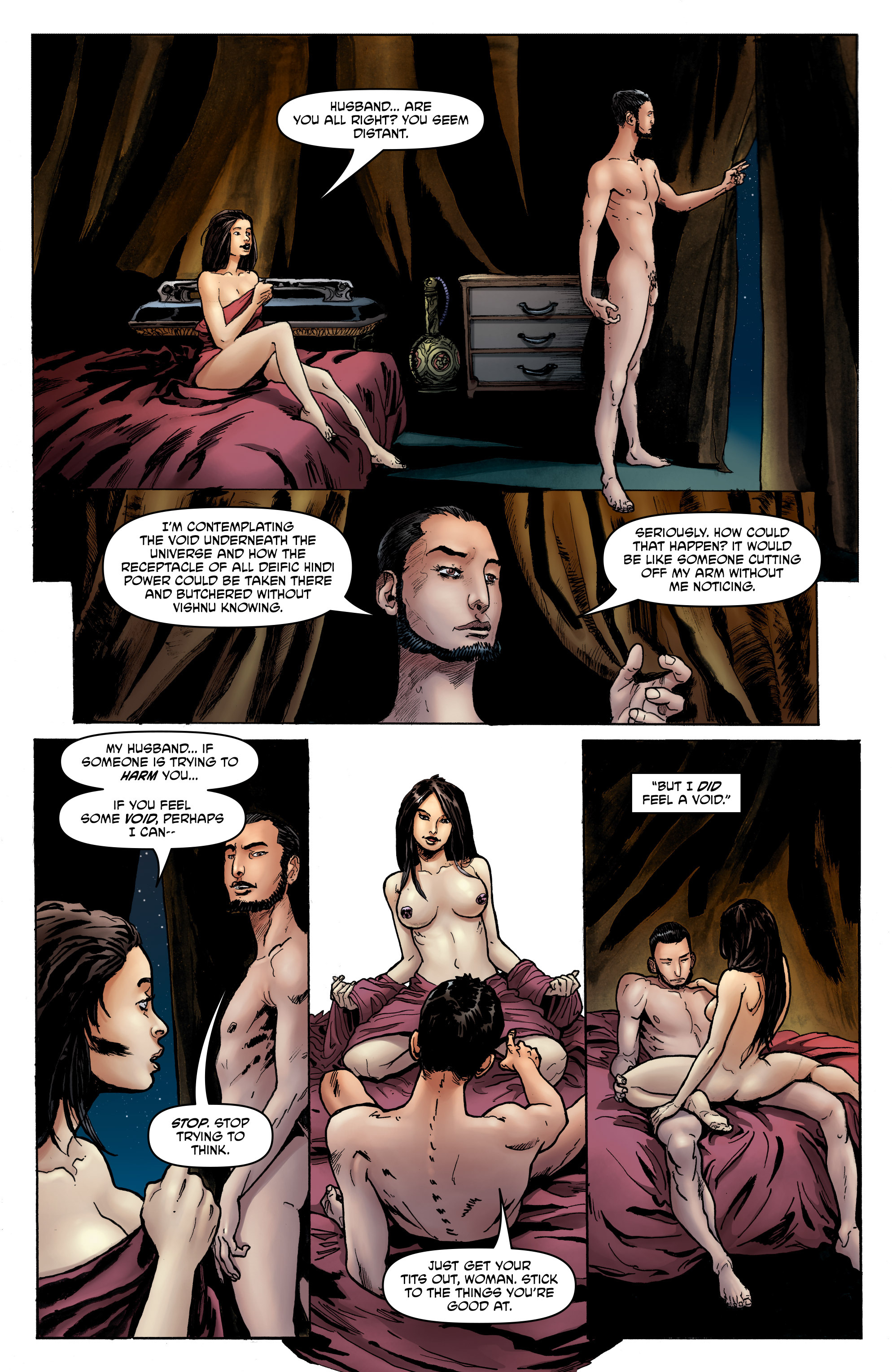 Read online God is Dead: Book of Acts comic -  Issue # Alpha - 19