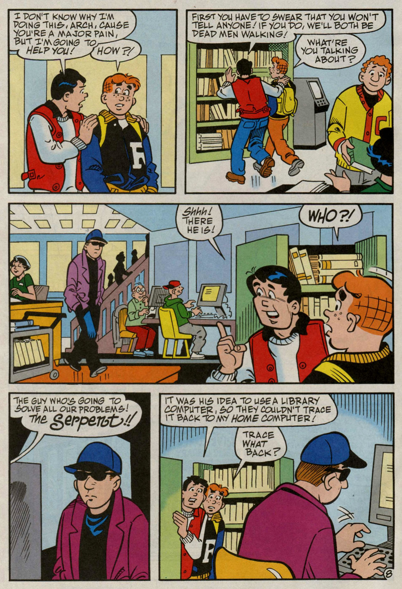 Read online Archie (1960) comic -  Issue #582 - 9