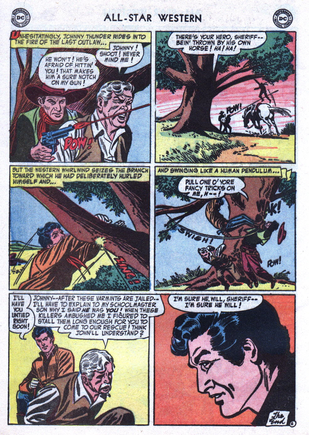 Read online All-Star Western (1951) comic -  Issue #76 - 32
