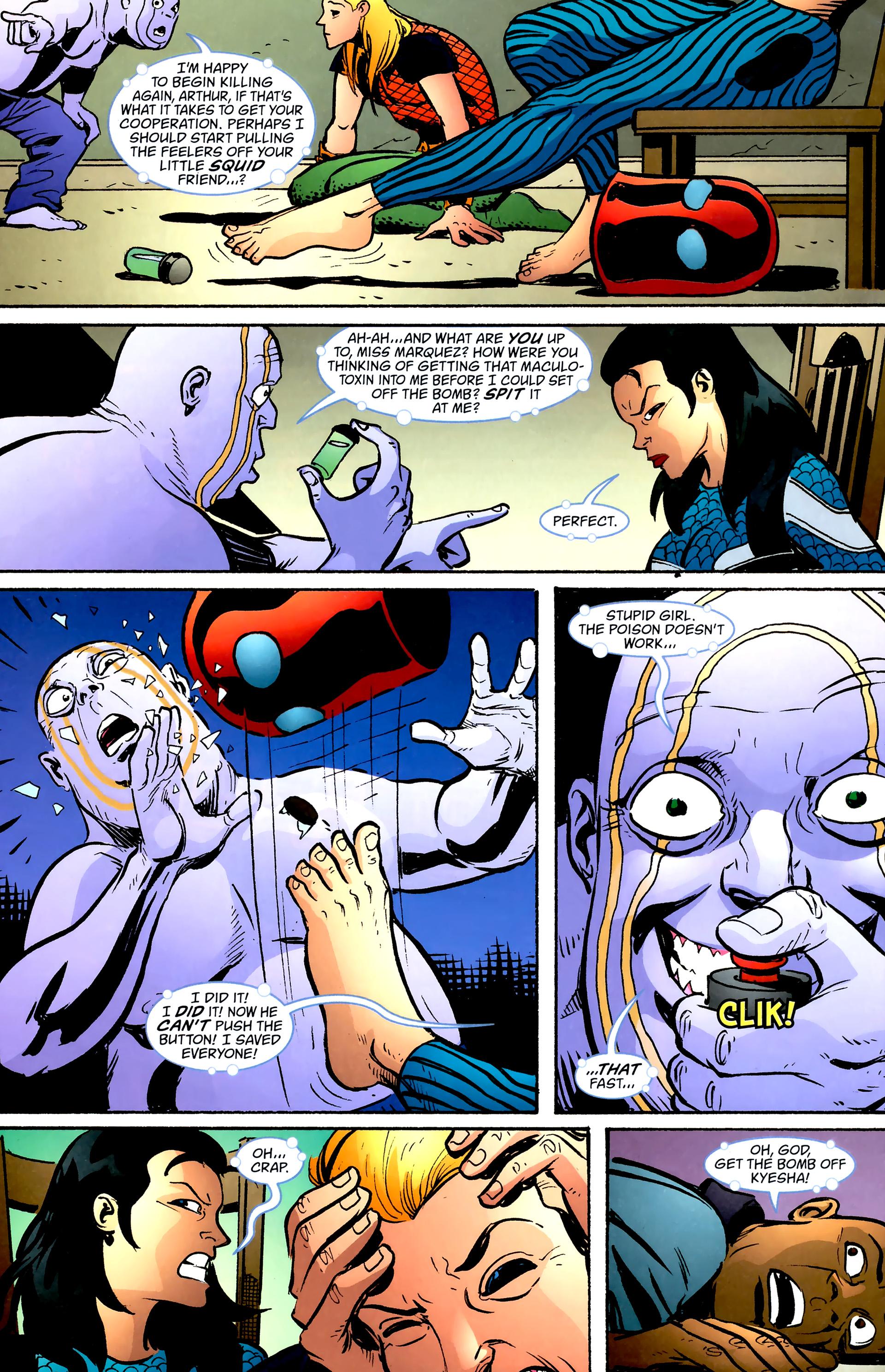 Read online Aquaman: Sword of Atlantis comic -  Issue #57 - 17