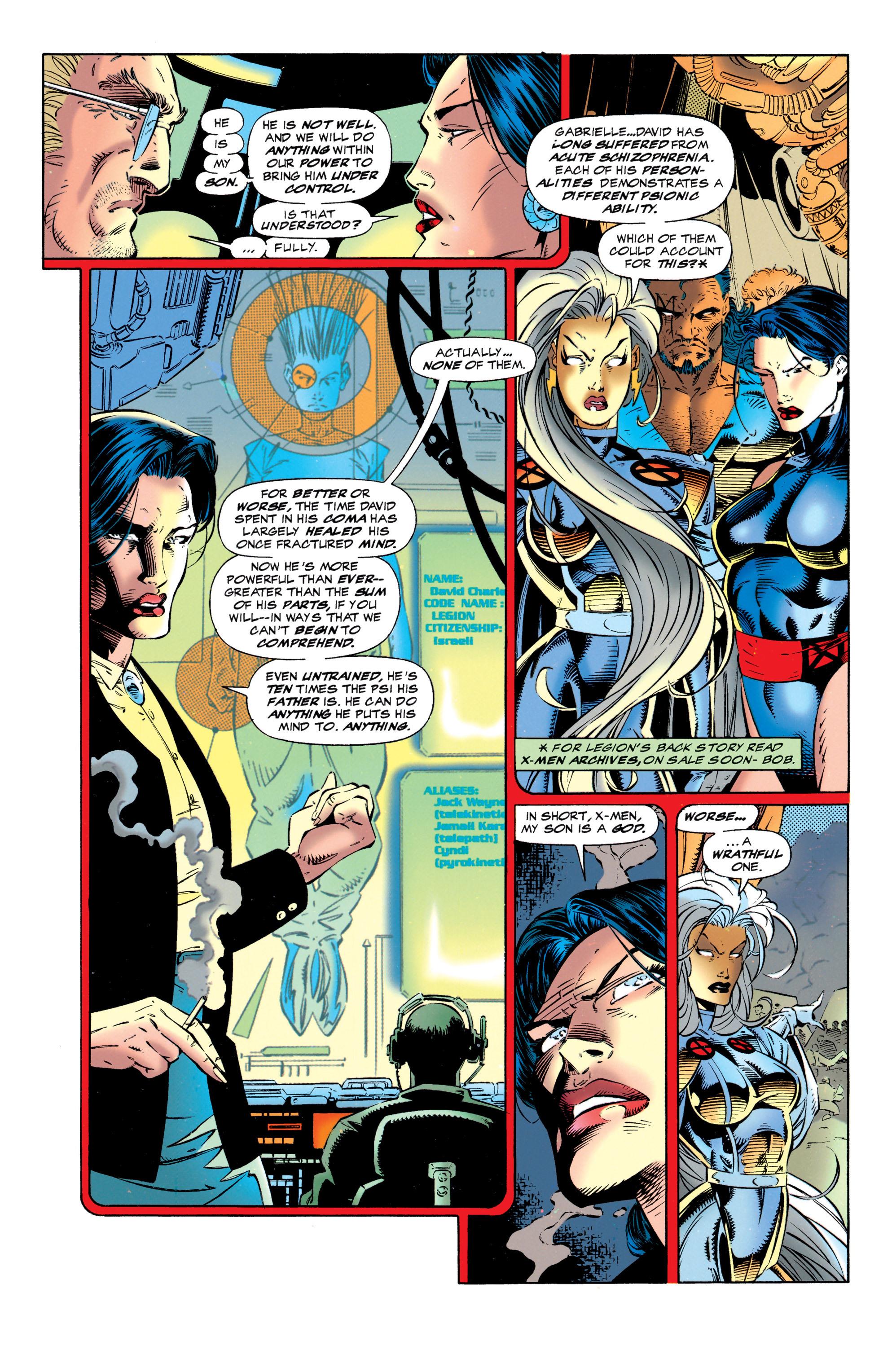 Read online Uncanny X-Men (1963) comic -  Issue #320 - 8