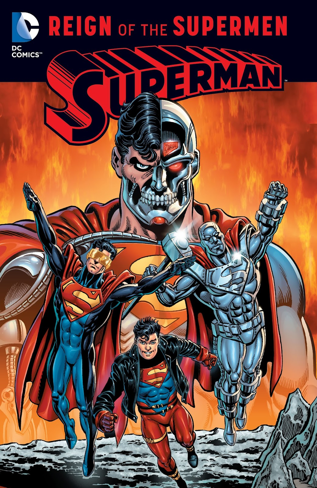 Superman: Reign of the Supermen TPB Page 1