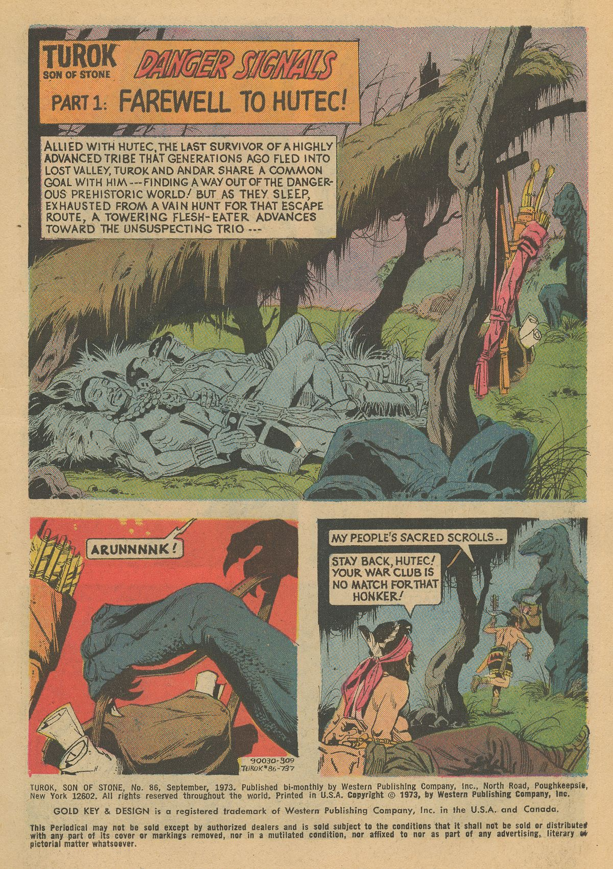 Read online Turok, Son of Stone comic -  Issue #86 - 3