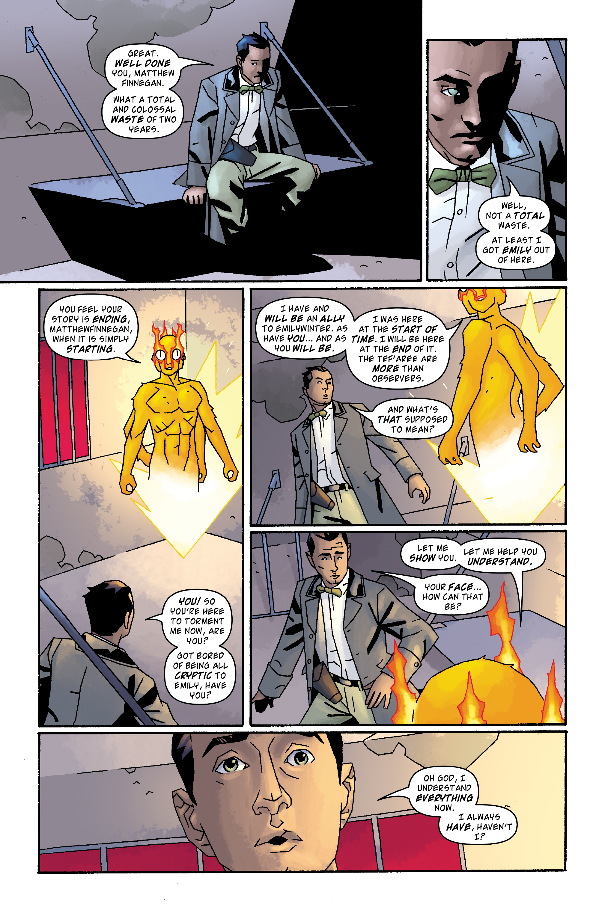 Read online Doctor Who: The Tenth Doctor Archives comic -  Issue #33 - 6