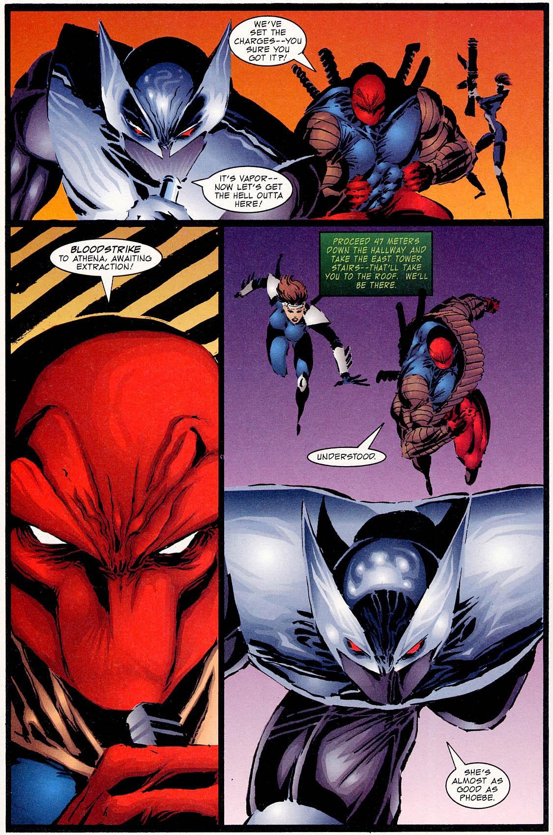 Read online ShadowHawk comic -  Issue #0 - 16