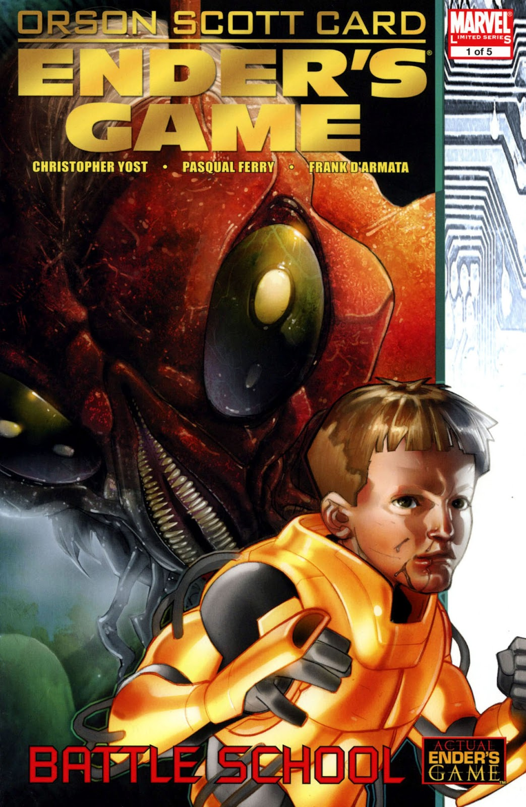 Ender's Game: Battle School issue 1 - Page 1